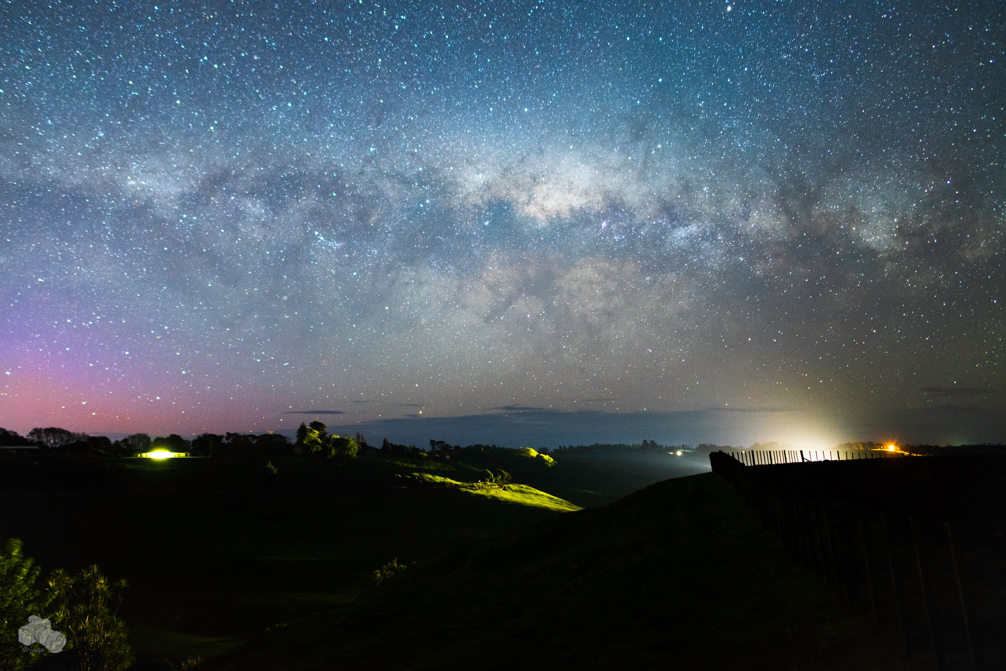 milk train, aurora, milky way all in one by Since 74 Photography