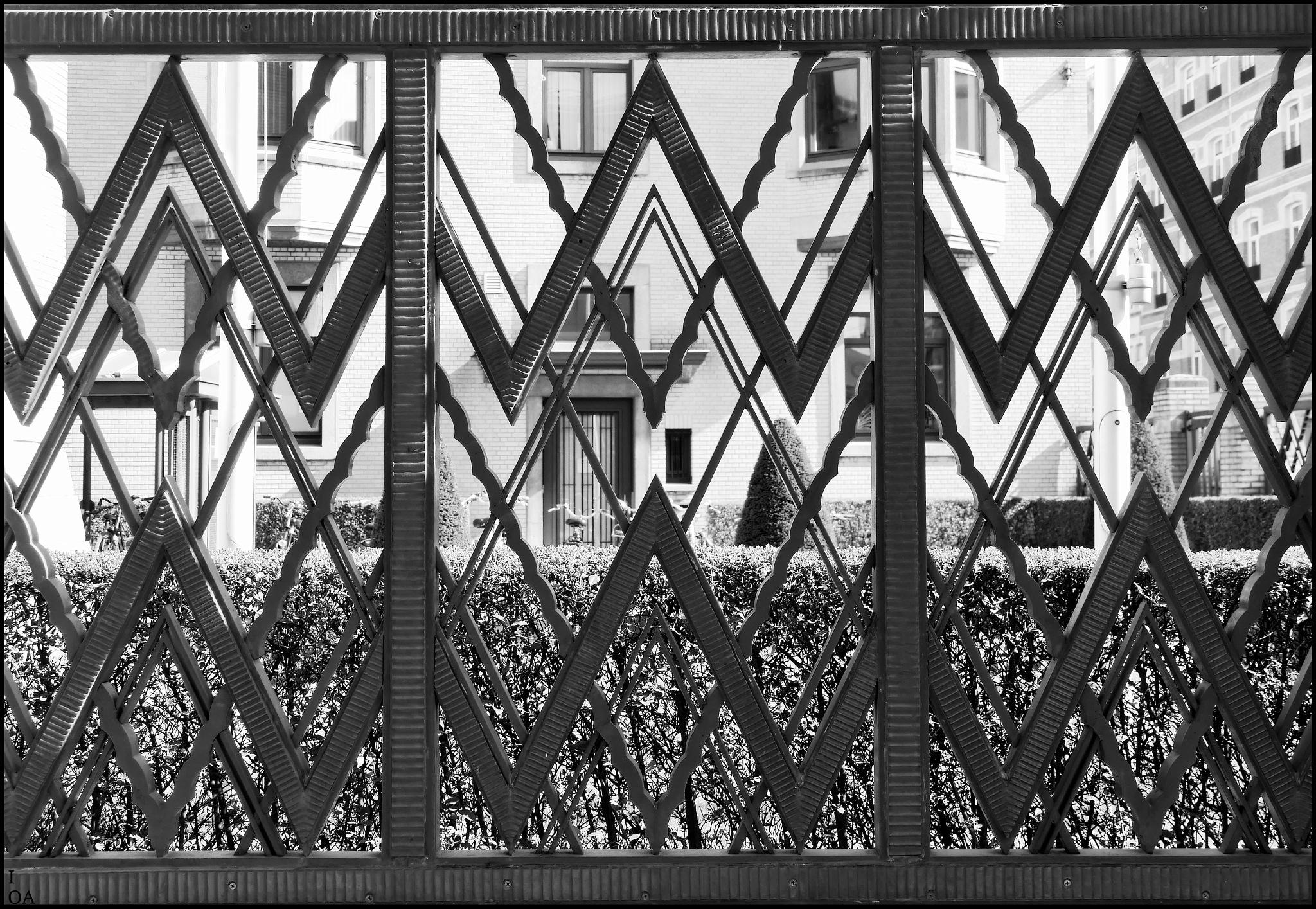 Fence by imageofantwerp