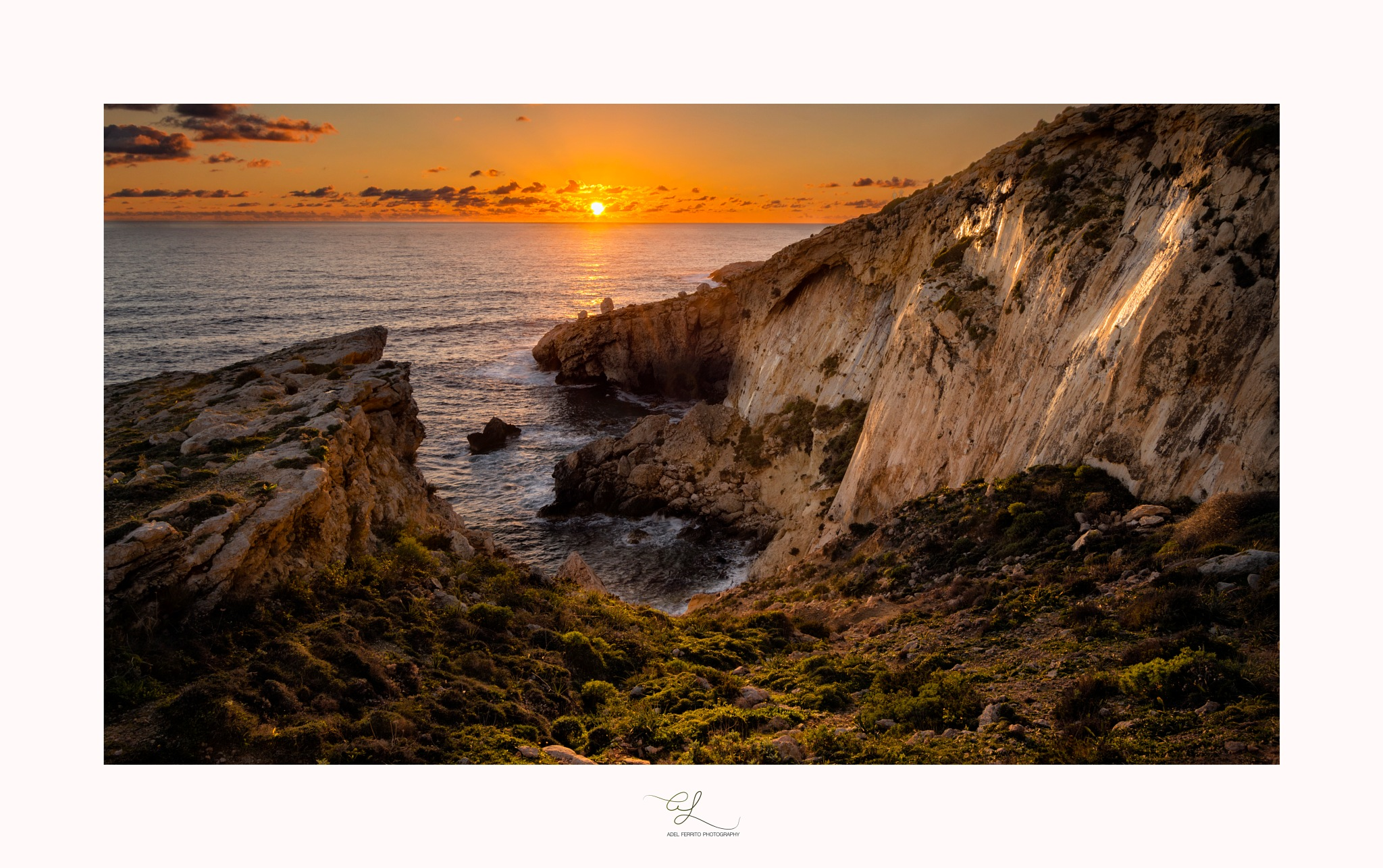 Winter's Sunset by adel ferrito