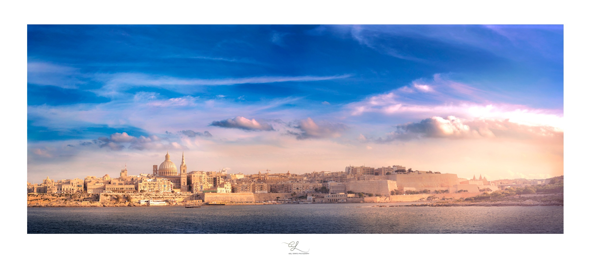 Valletta Panorama by adel ferrito