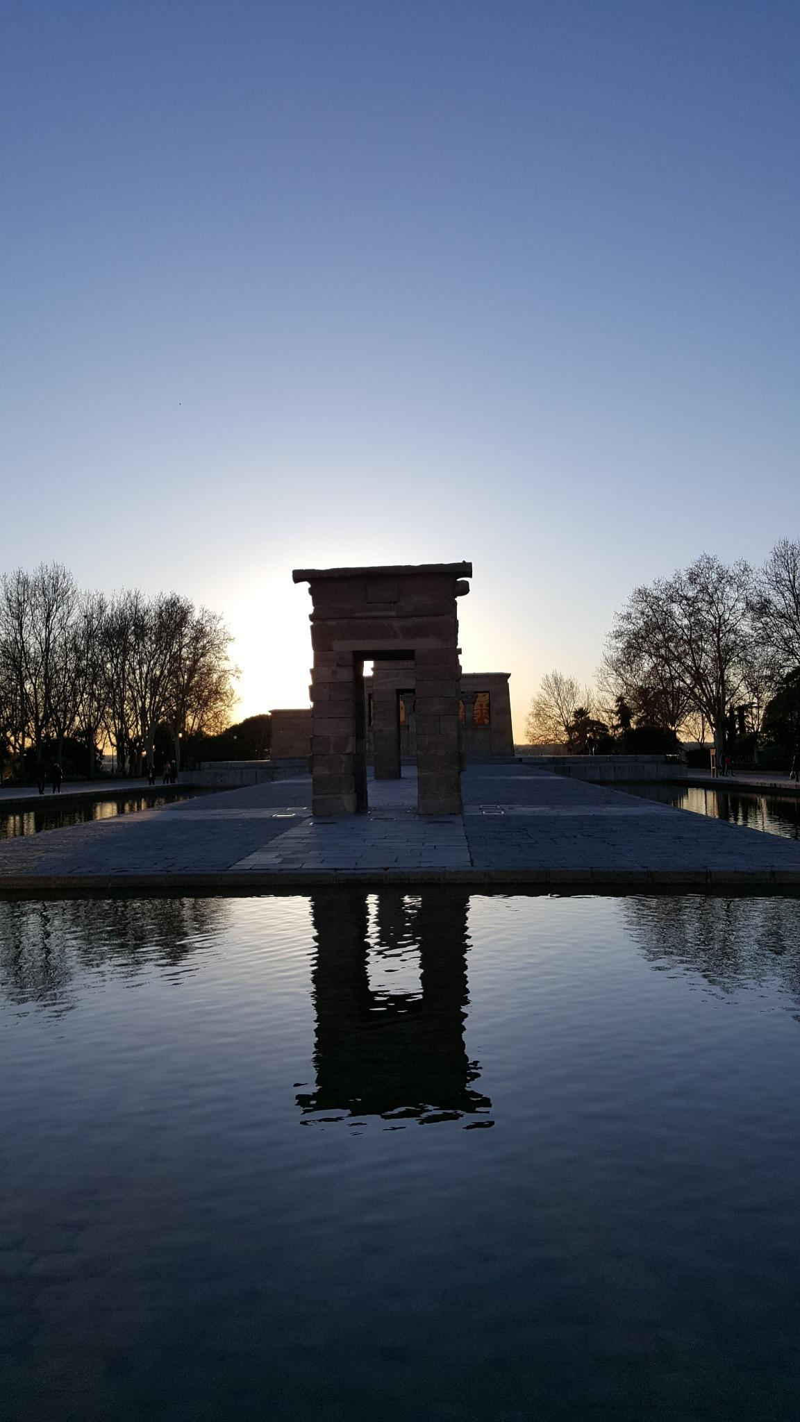 Templo de Debod by Alan G. Renner