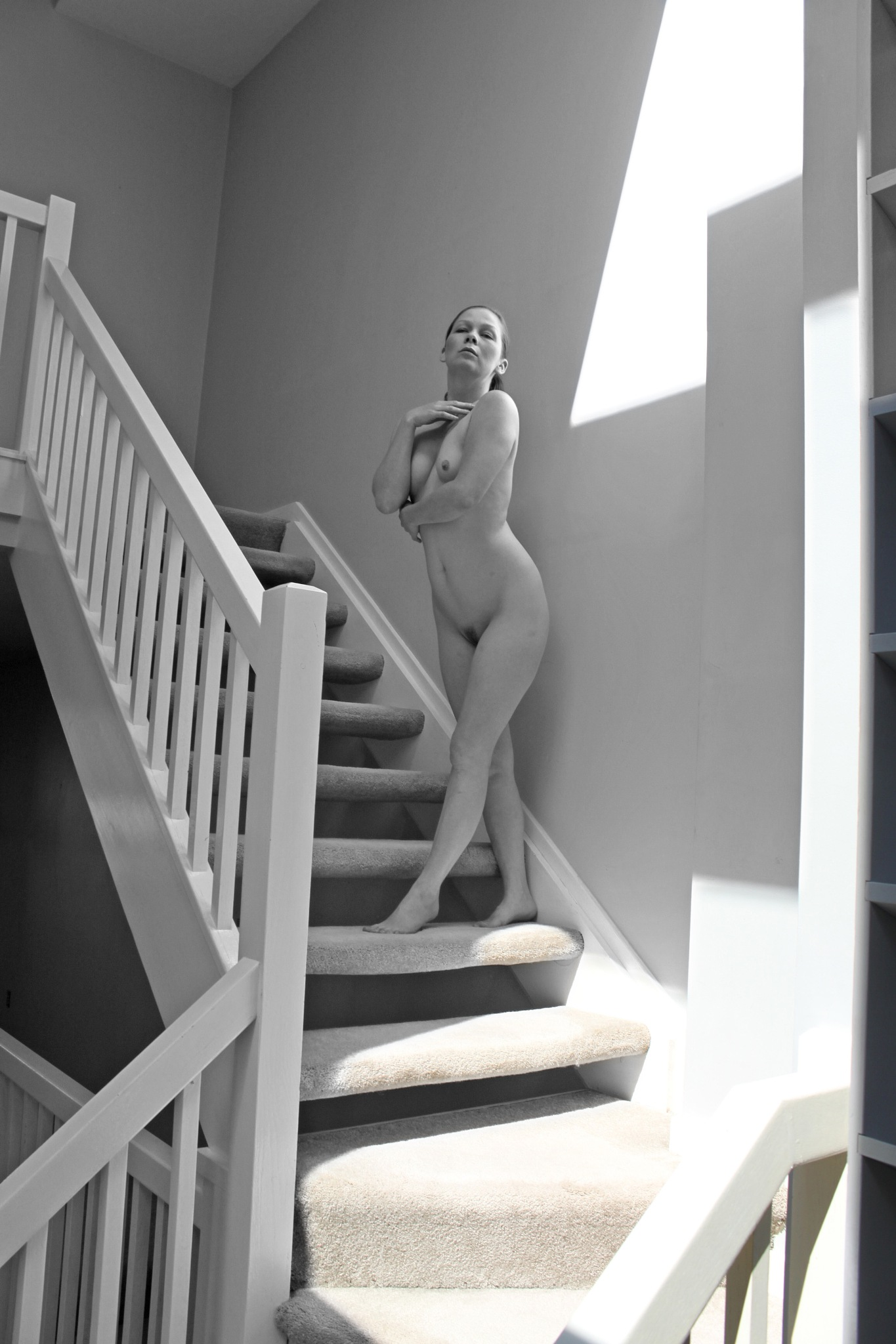 Model Sarah at the townhouse by robertlperson