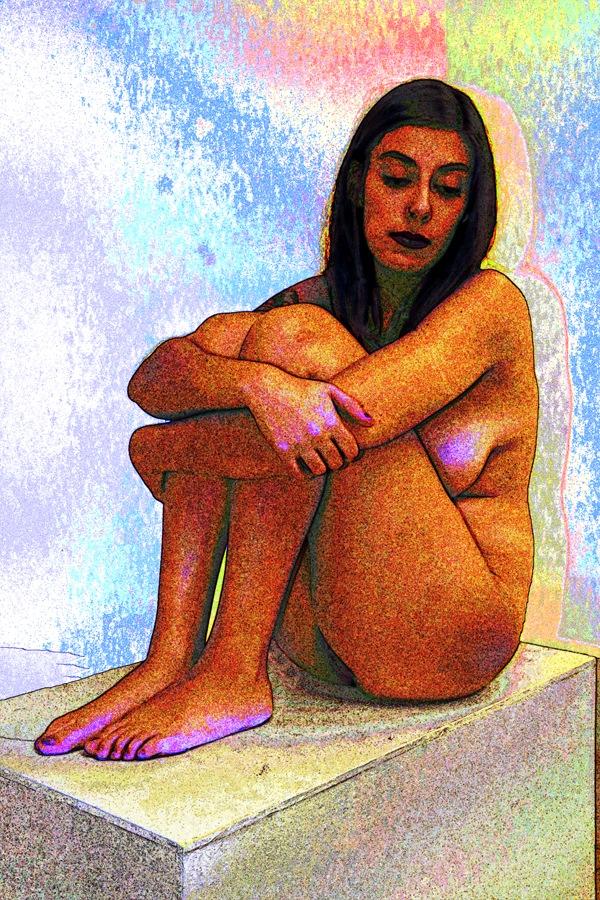 Amanda Abstract by robertlperson