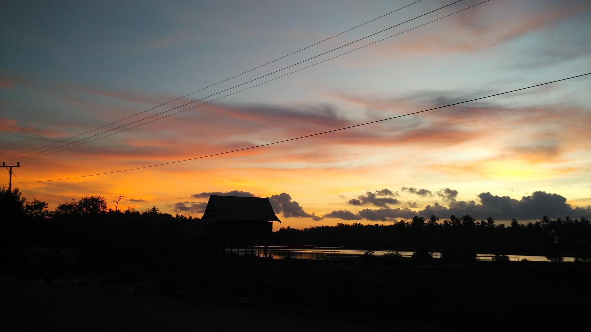sunset by apriandi_zero