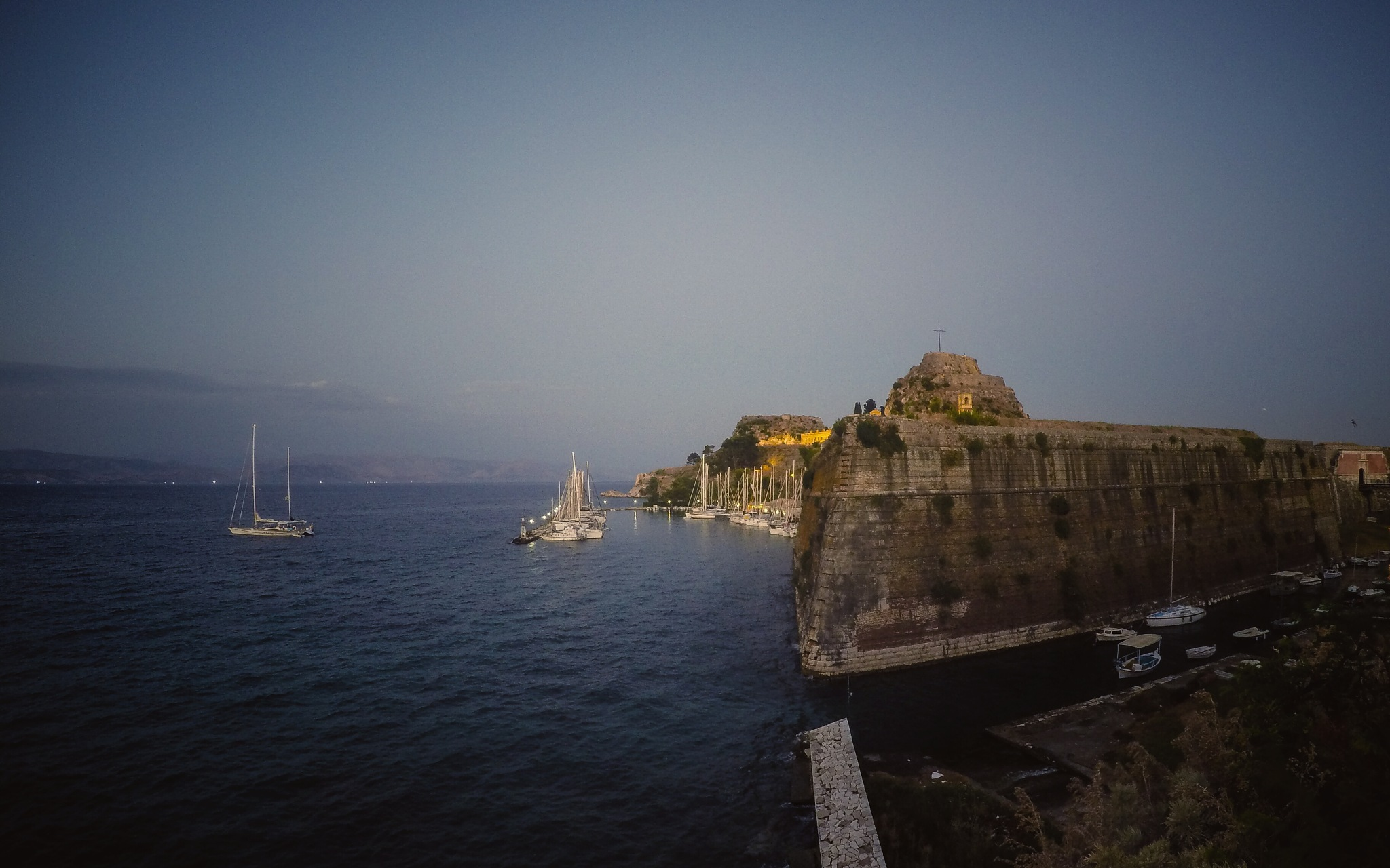 Old Fortress, Corfu, Greece by thanos