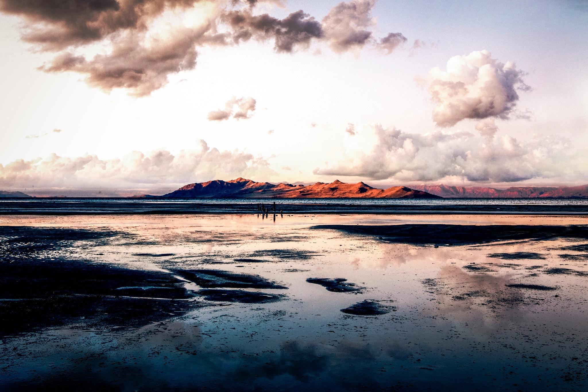 Mountains on the Otherside by Jordan M. Lomibao