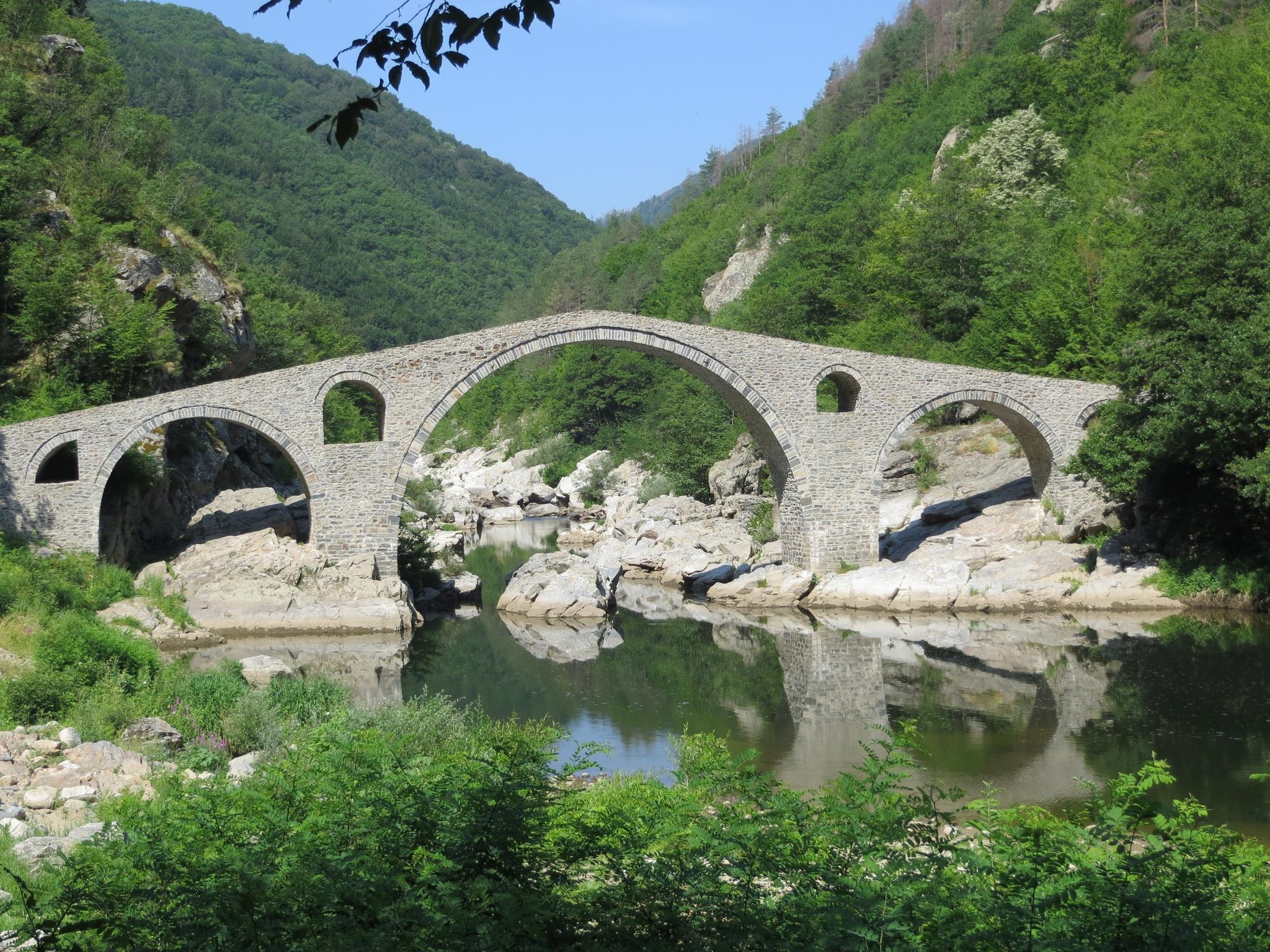 The Devil's Bridge, Arda river by kamelk