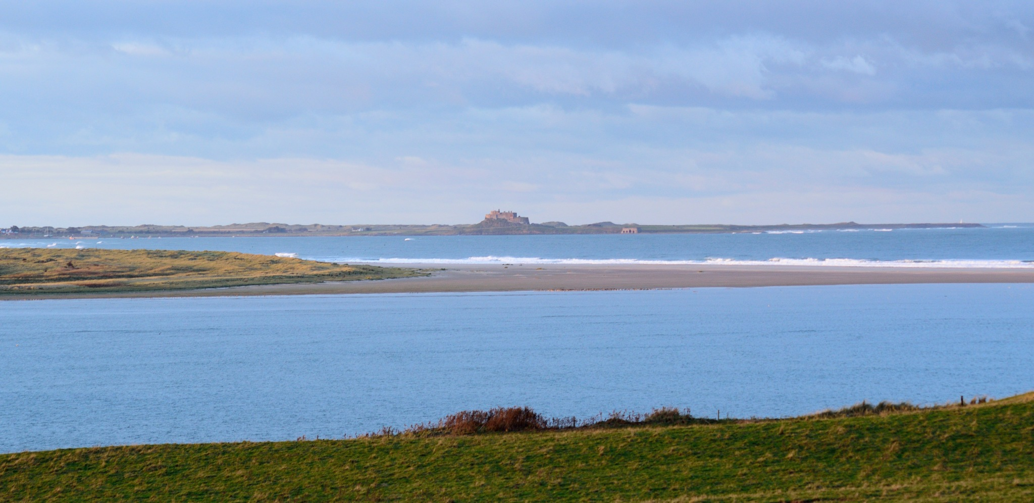Overlooking Holy Island  by sophie71