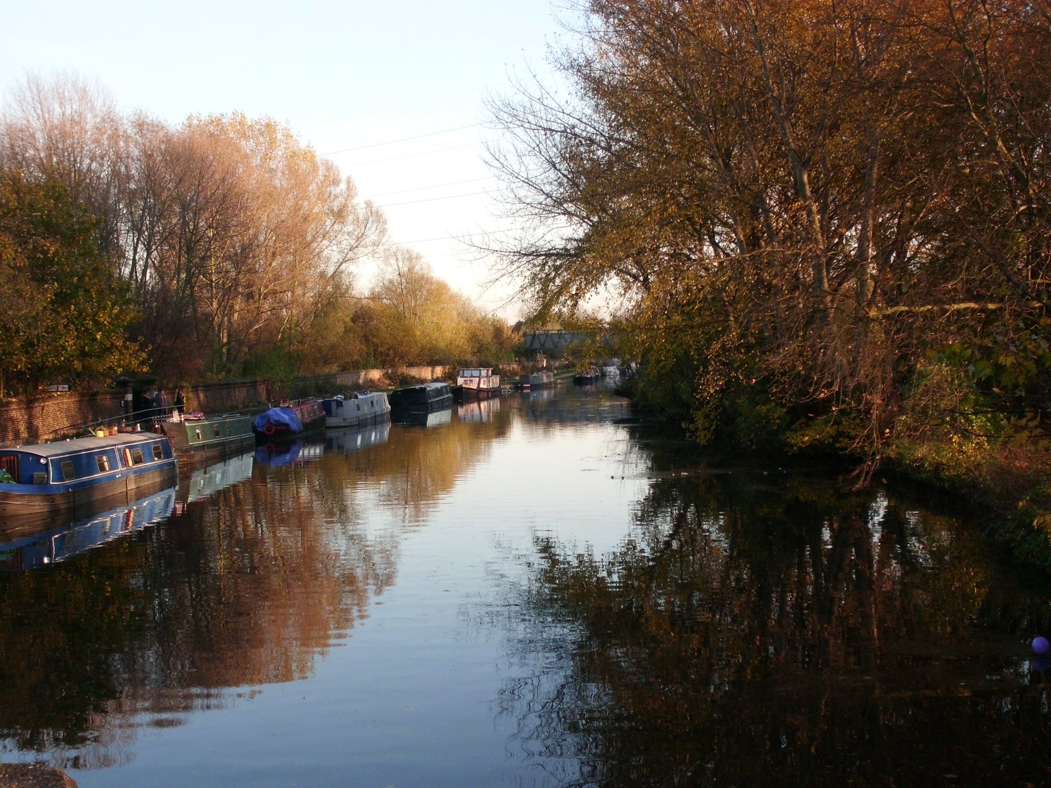 Springfield park-lee valley canal -North London  by Sima Janan