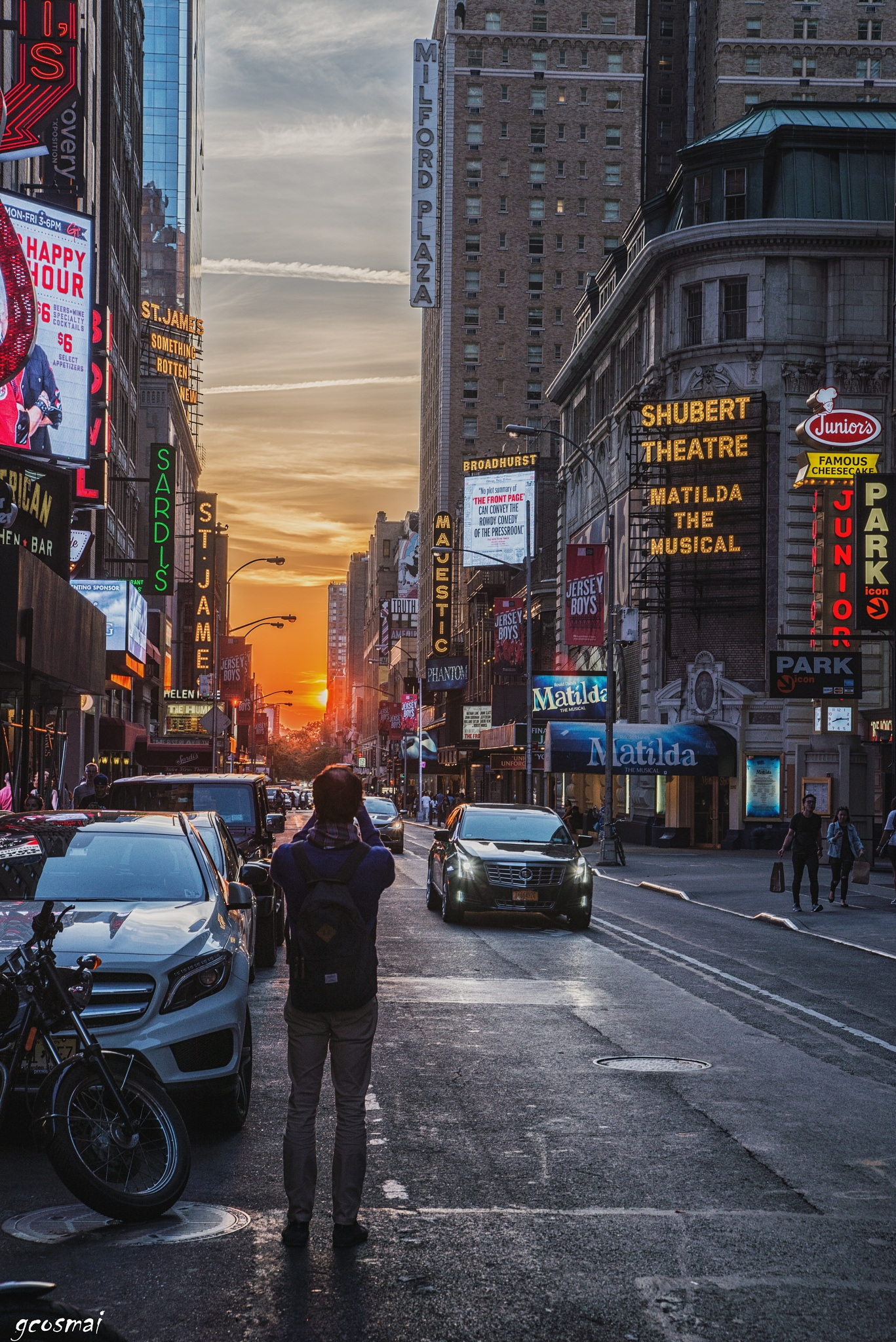 Sunset at 44th by G.Cosmai