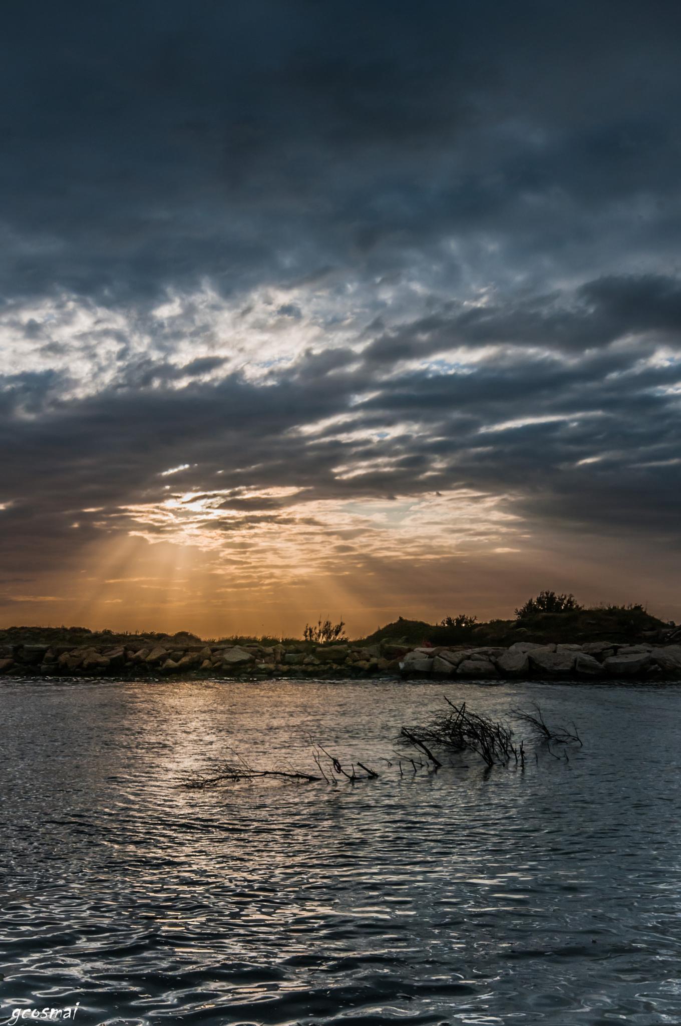 Sunset in Tuscia by G.Cosmai