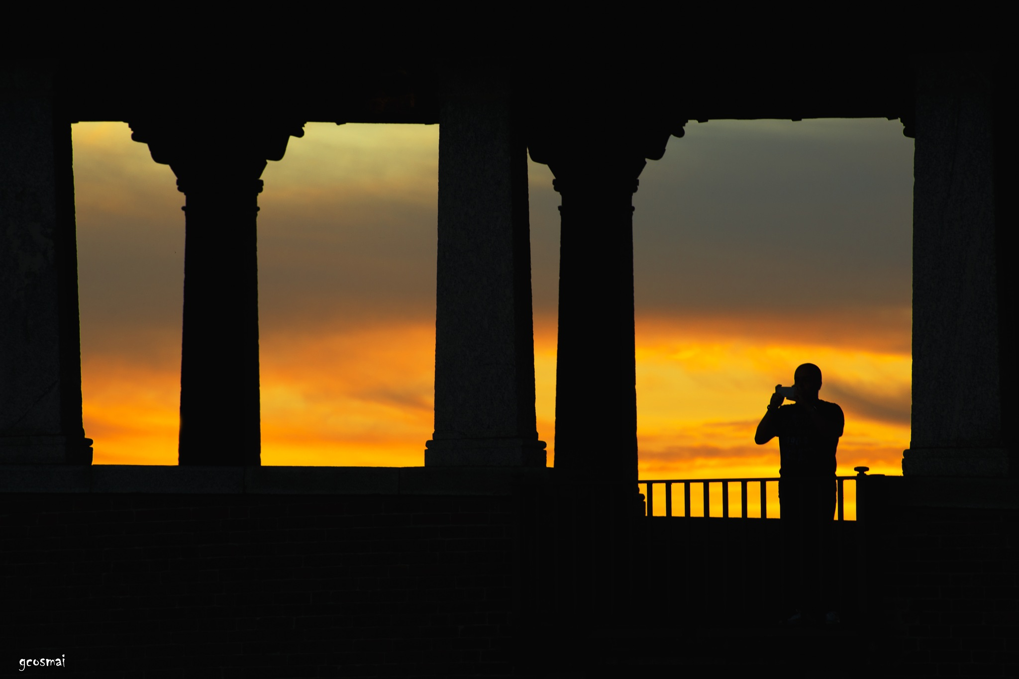 A snapshot at sunset by G.Cosmai