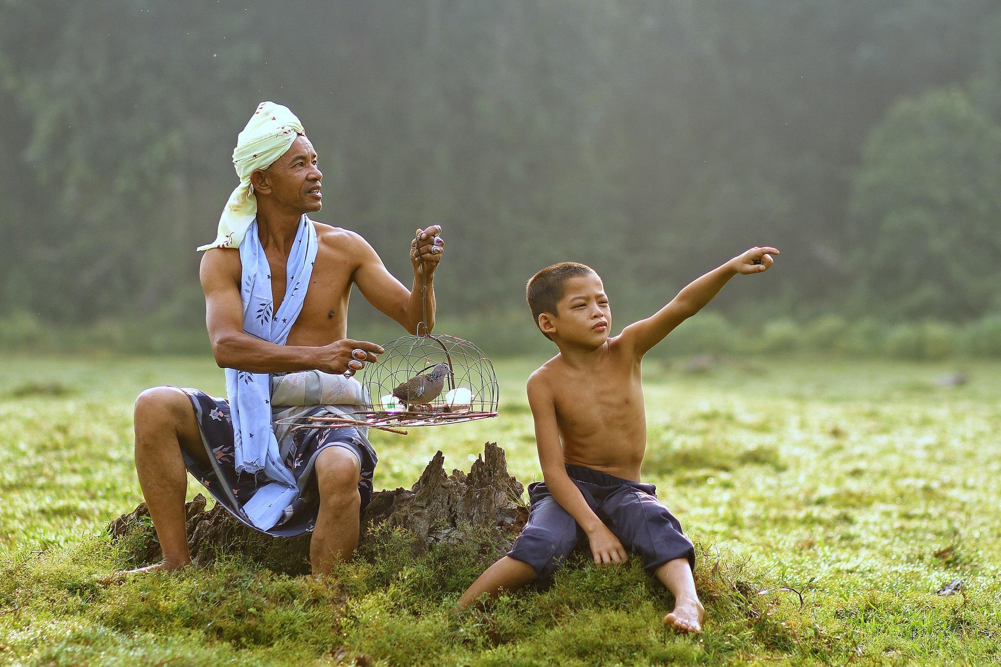 Father and Son by Dallah Deen Mohd Zain