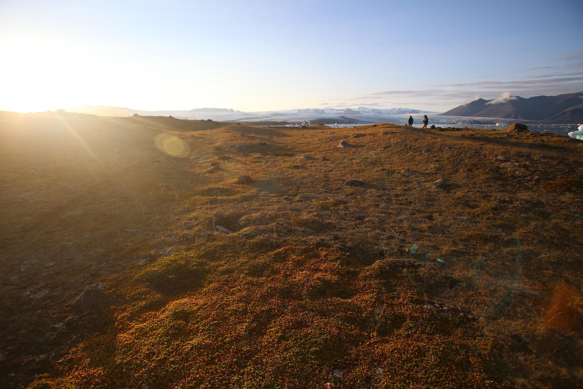 Jokulsarlon, Iceland by Rimantas Matulionis