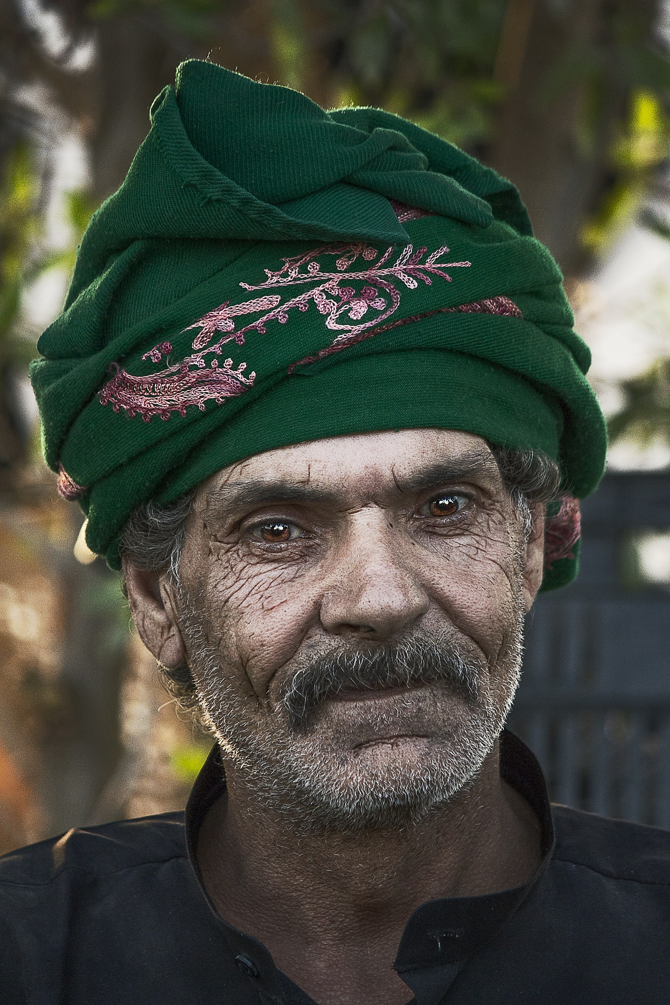 Old Man with Great Eye by Mujtaba Ziyad