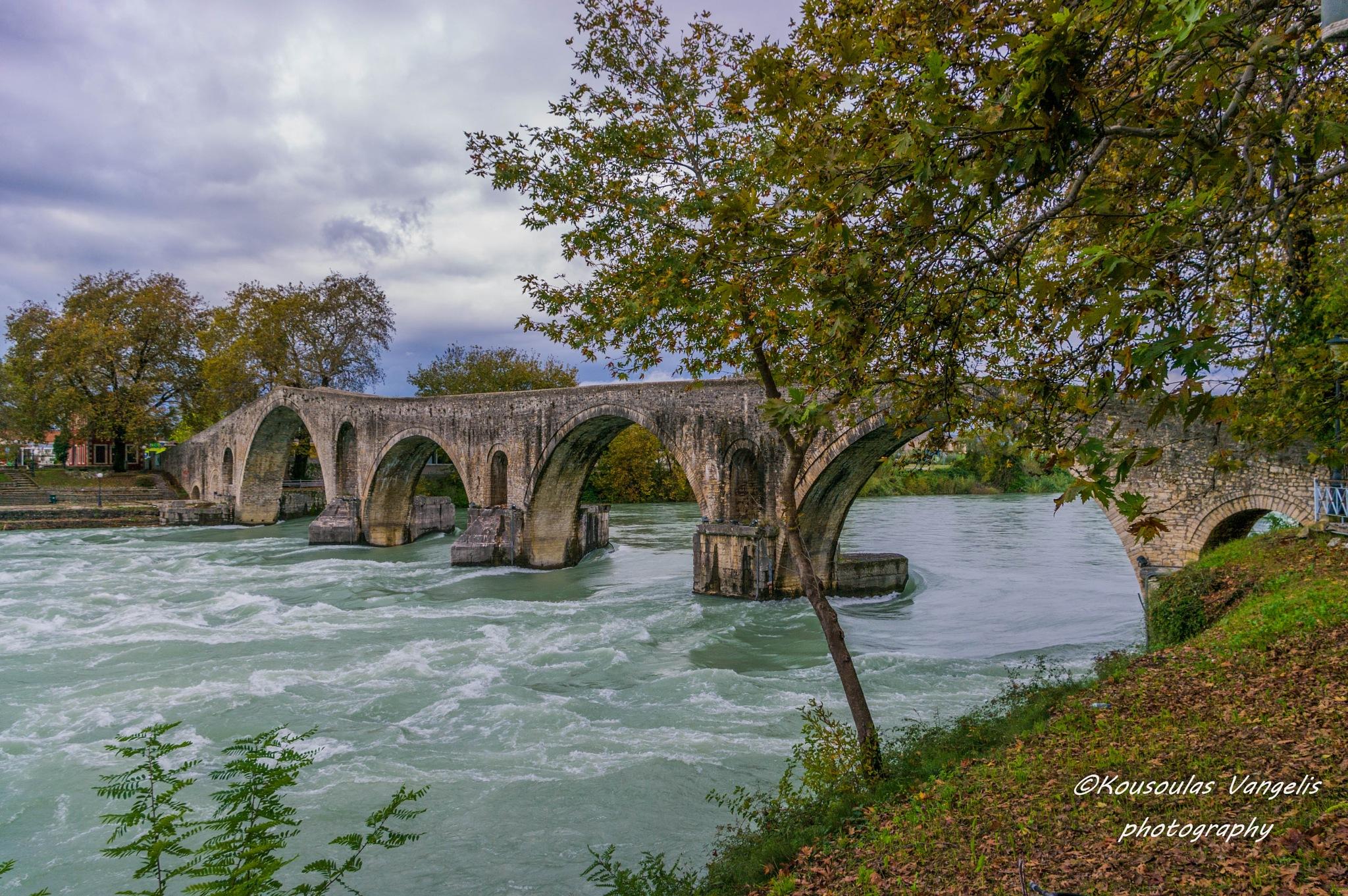 The bridge of Arta by kousoulas vangelis