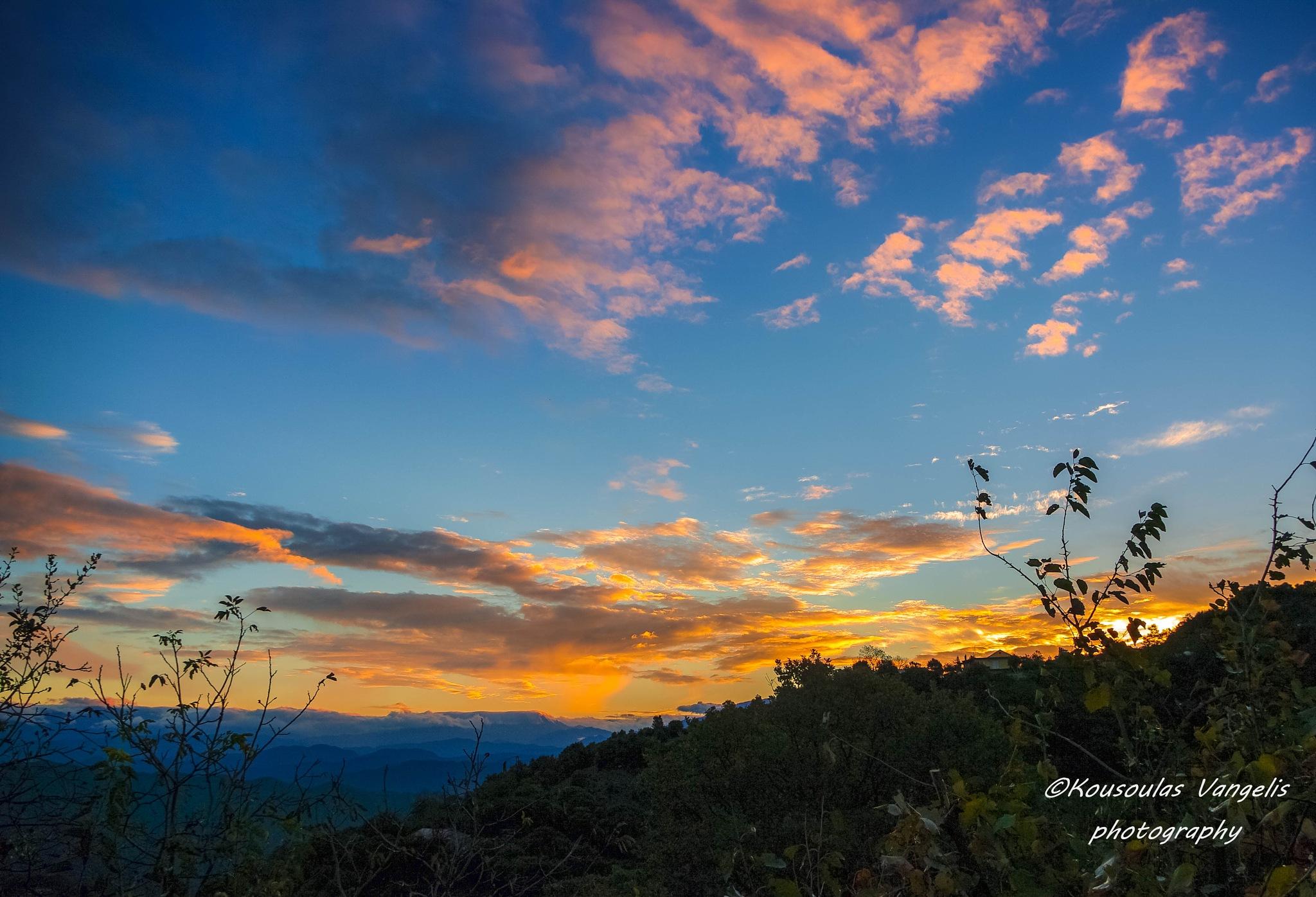Sunrise by kousoulas vangelis