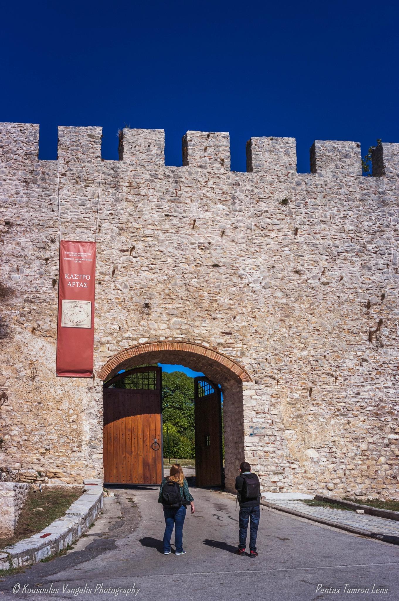 the Castle of Arta by kousoulas vangelis