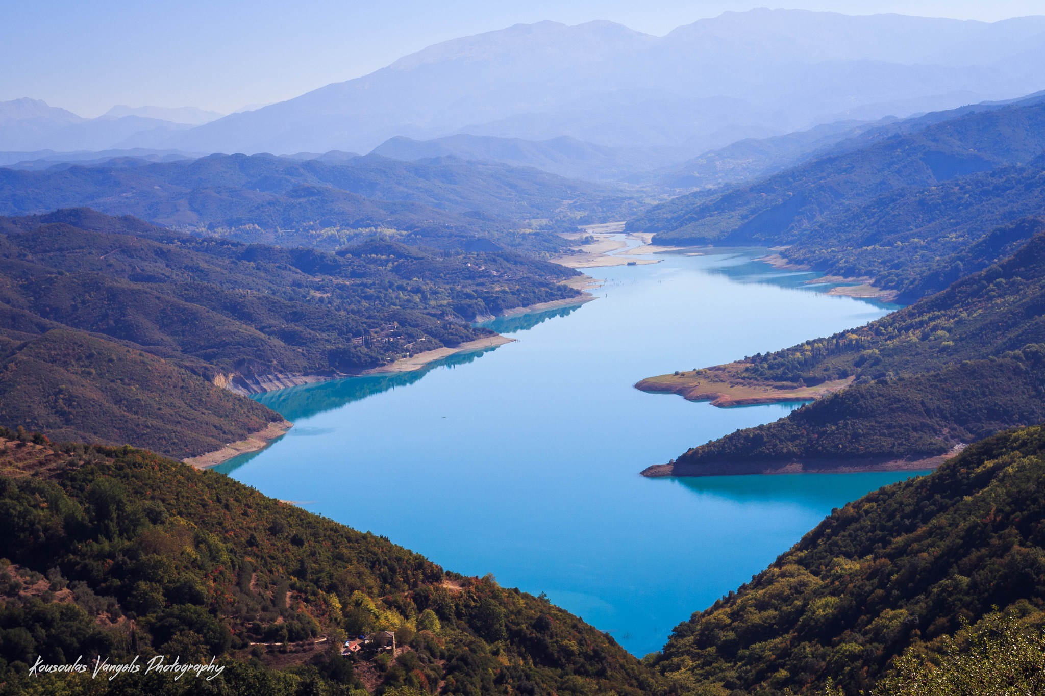 Lake my village by kousoulas vangelis