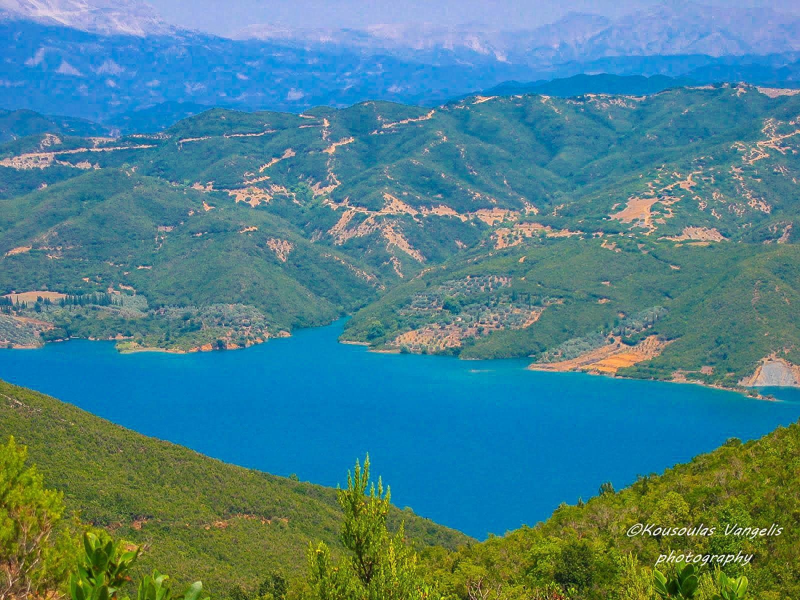 lake pournari arahthos river by kousoulas vangelis