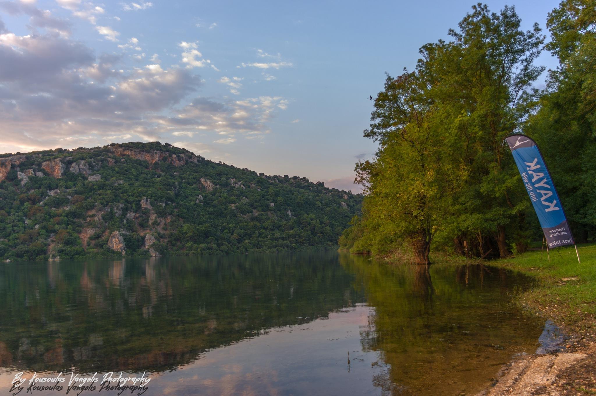 Lake Ziros by kousoulas vangelis