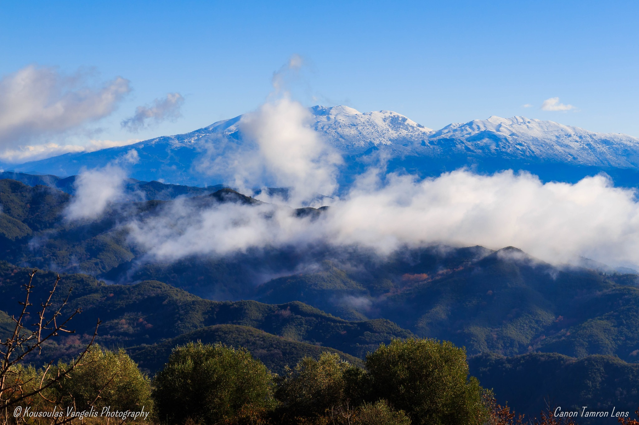 Fog landscape by kousoulas vangelis