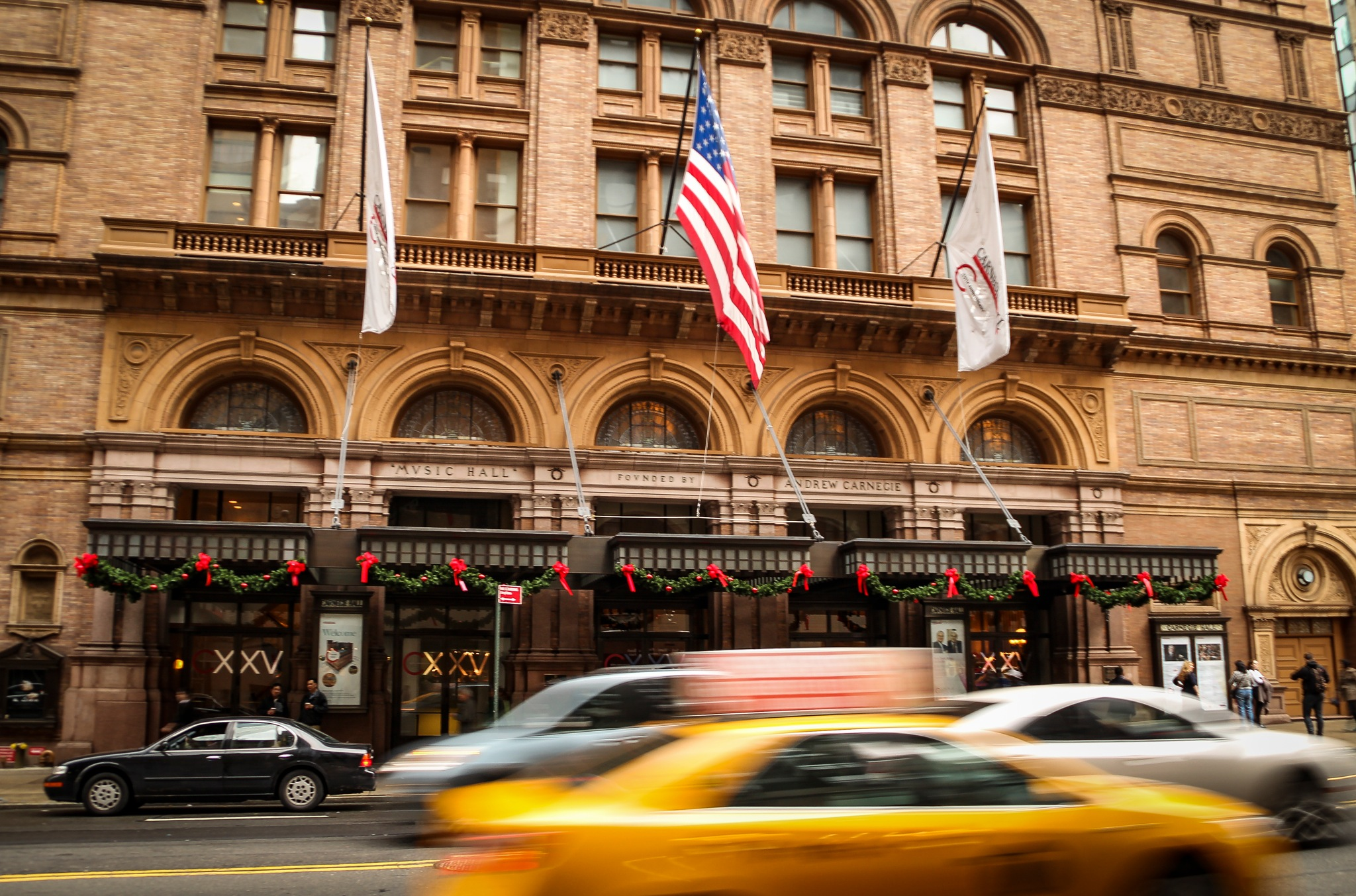 Carnegie Hall, New York by Rafael Puerto
