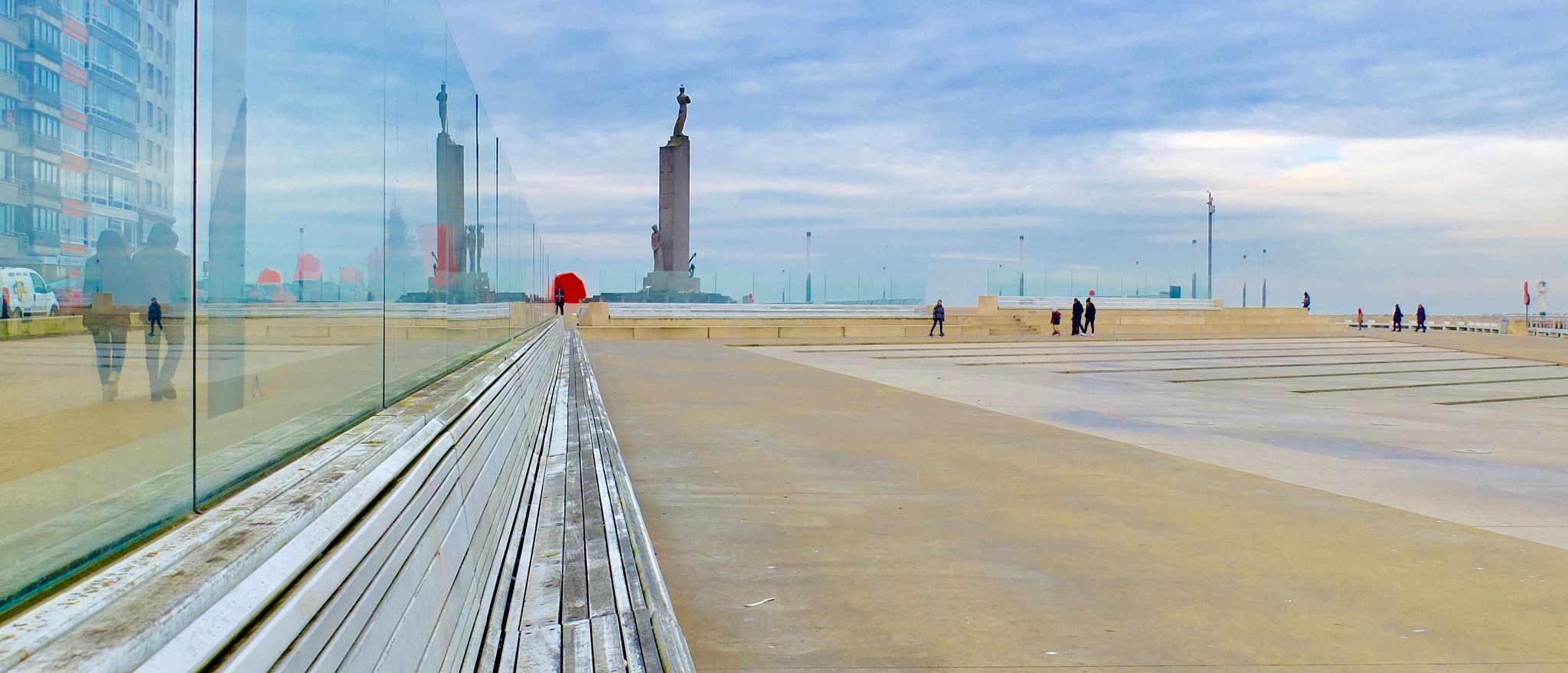 Ostend monument of lost sailors by Emanuel Marc Carl