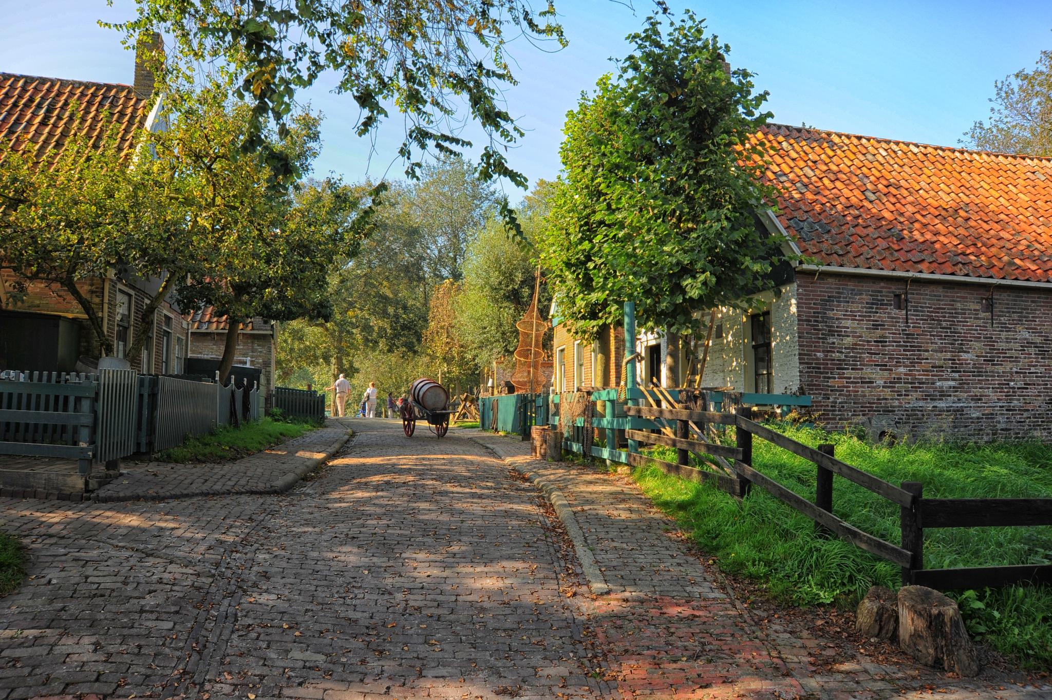 Enkhuizen in the Netherlands by Iet gerritsen