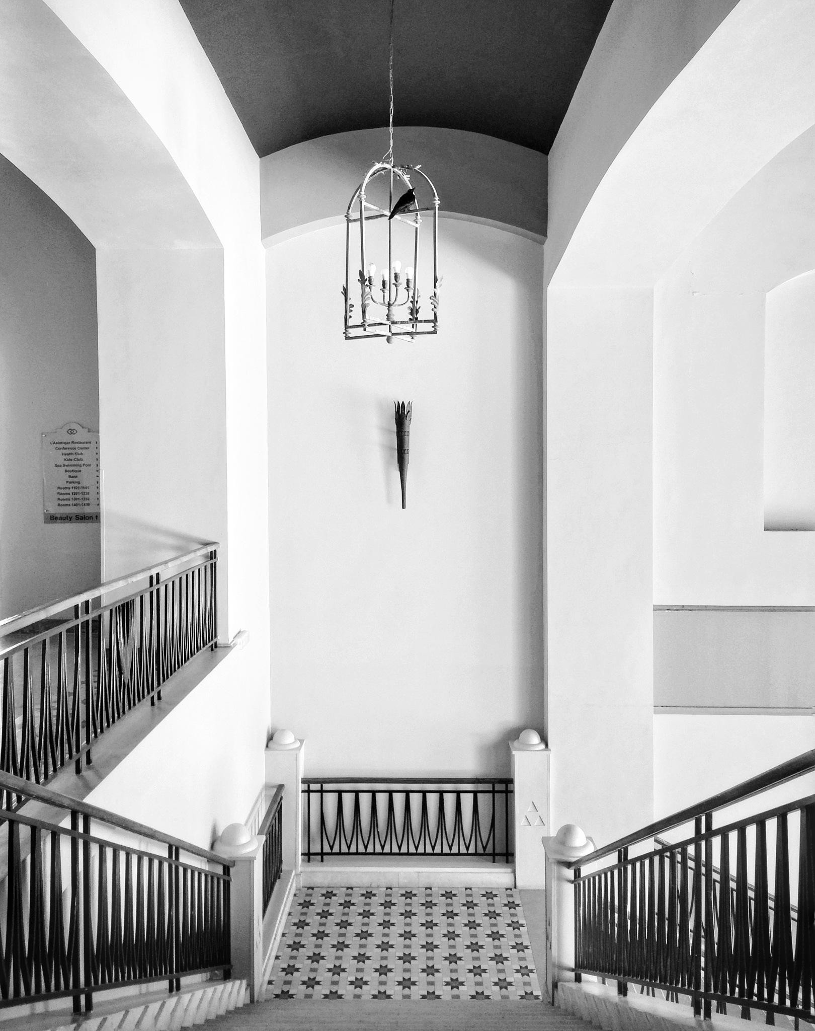 Crow stairs  by AbdulAziz Al-Syouf