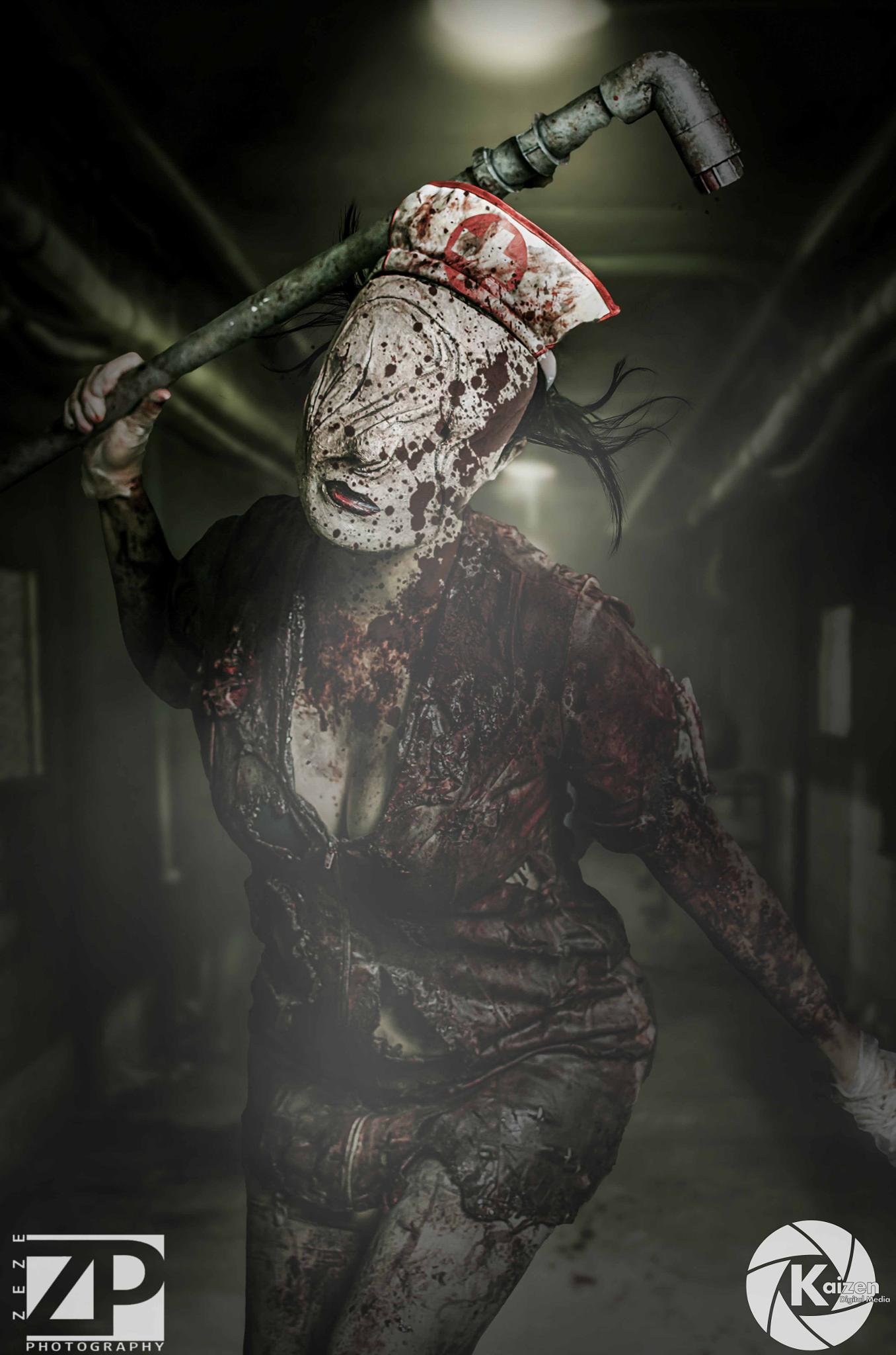 Silent Hill Nurse by Zeze Photography