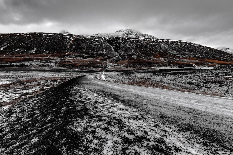 Near Akrahreppur, Norðurland, Iceland by Roman Rogner