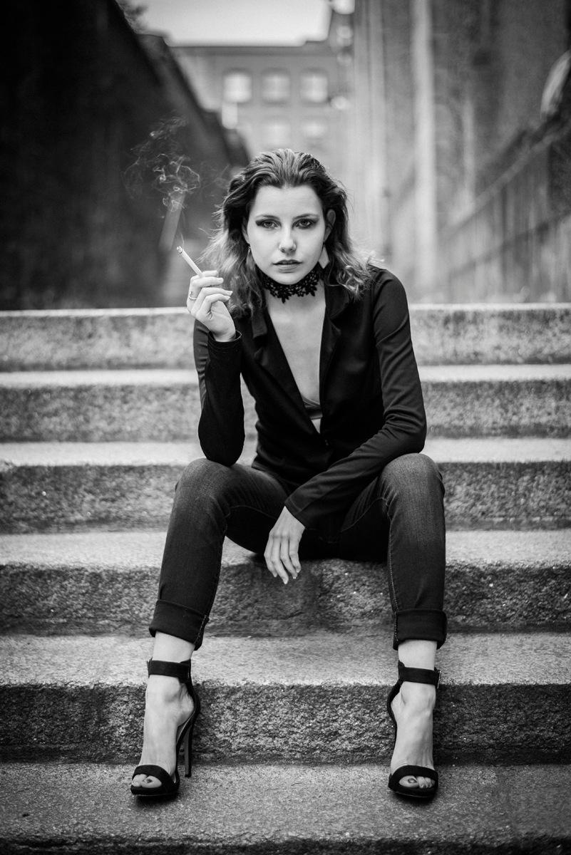 She's Smokin' by PaulMaxwell23