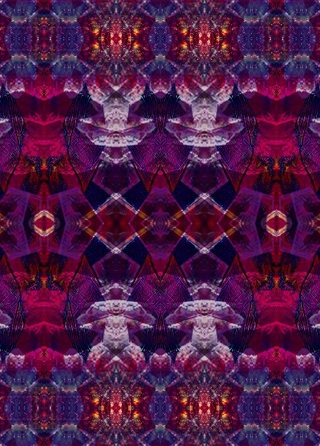 Abstract Tapestry #4 by Amachua