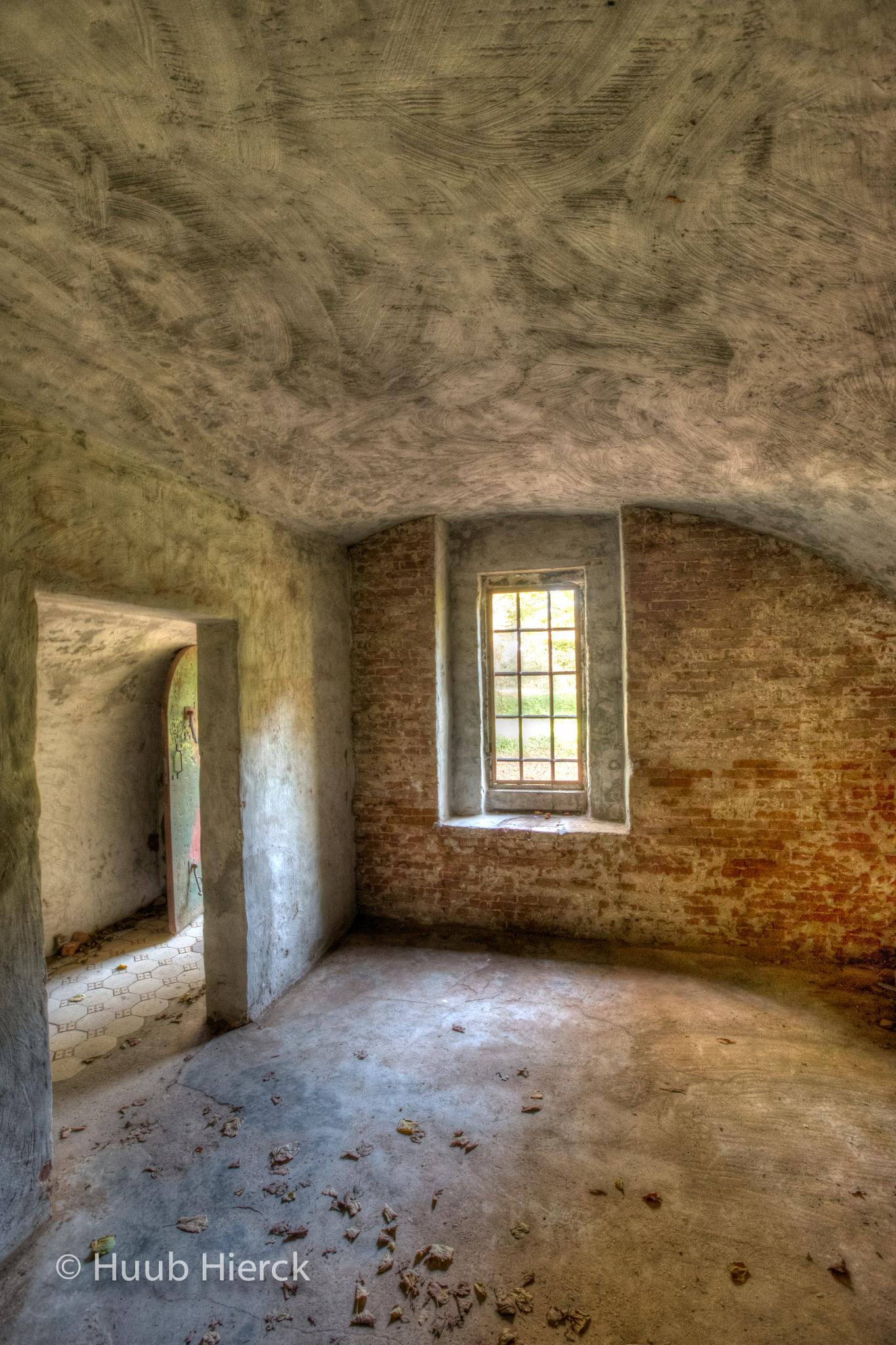 Interior of a ruine by Angus