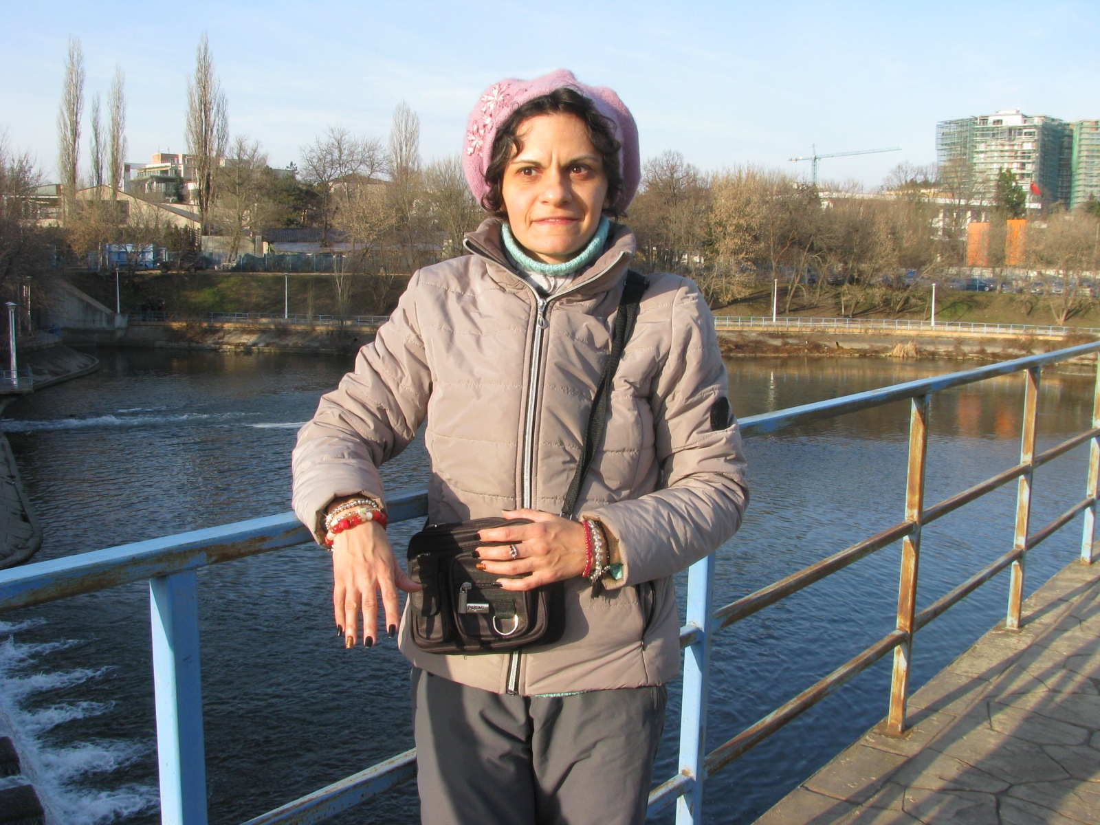 At Herastrau park in Bucharest, Romania, 26.02/ 2017 by Elena Maria