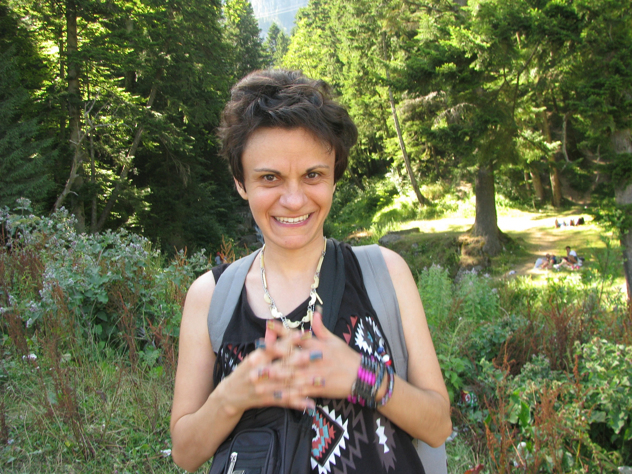 Me, at the mountain, Busteni resort- august 2016 by Elena Maria