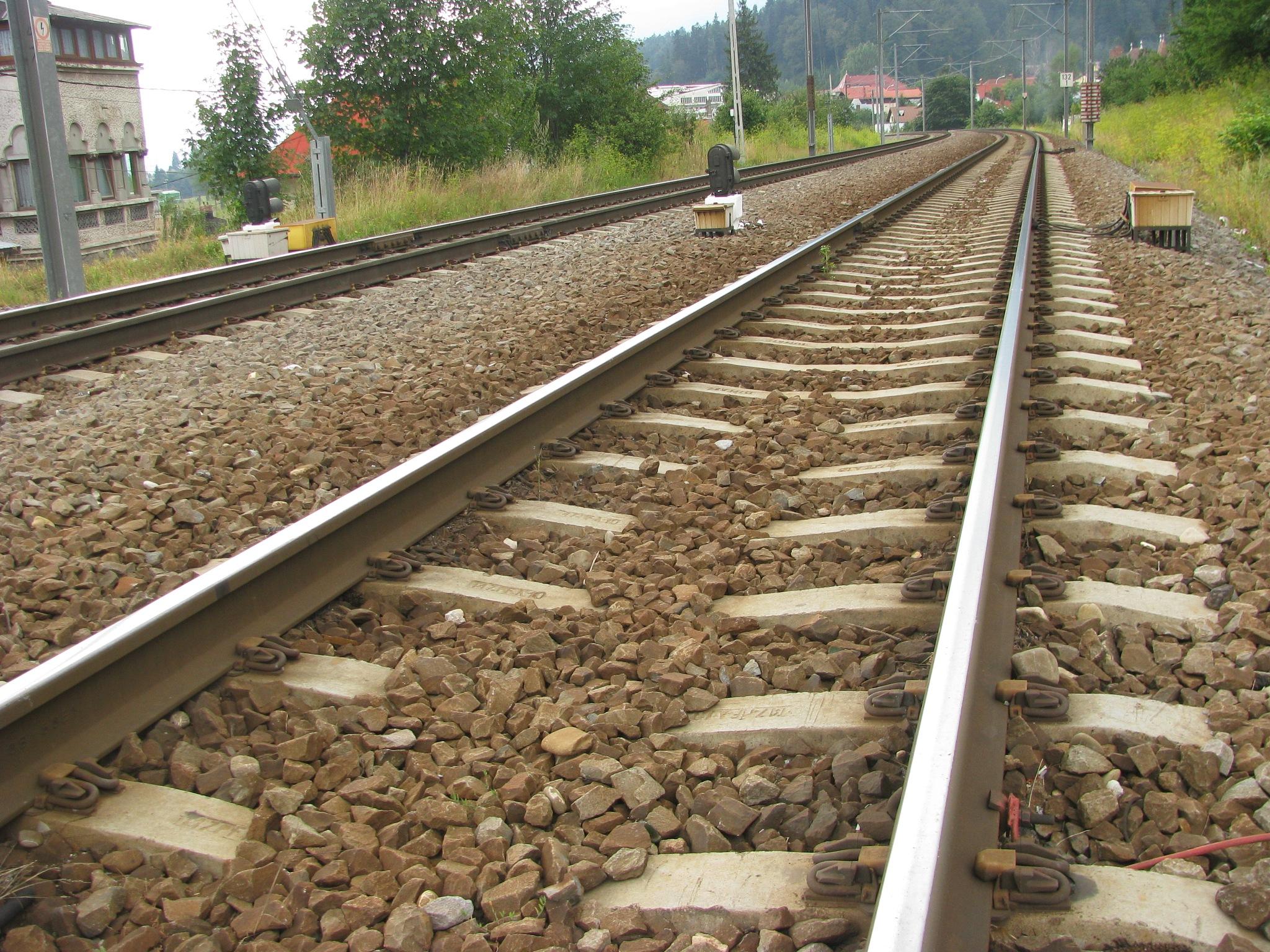 Train tracks by Elena Maria