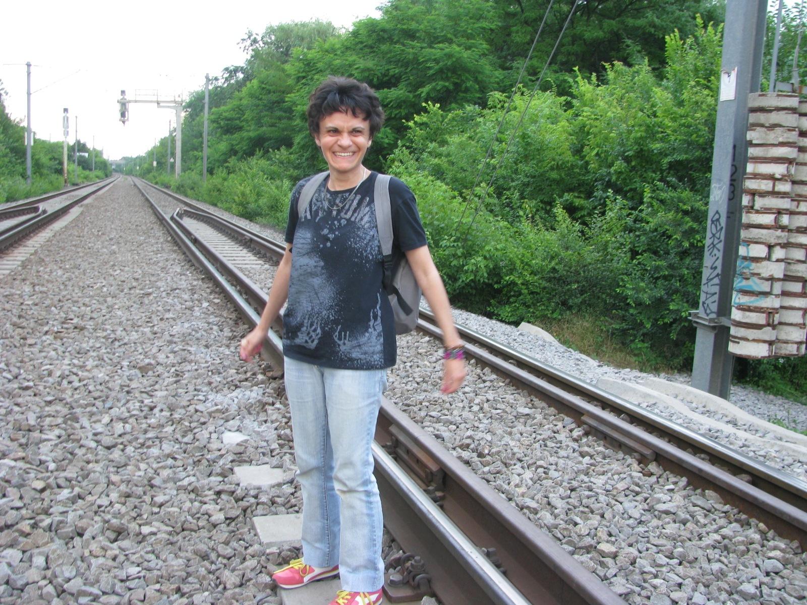 I hope to be fallowed by those who like railroad shots by Elena Maria