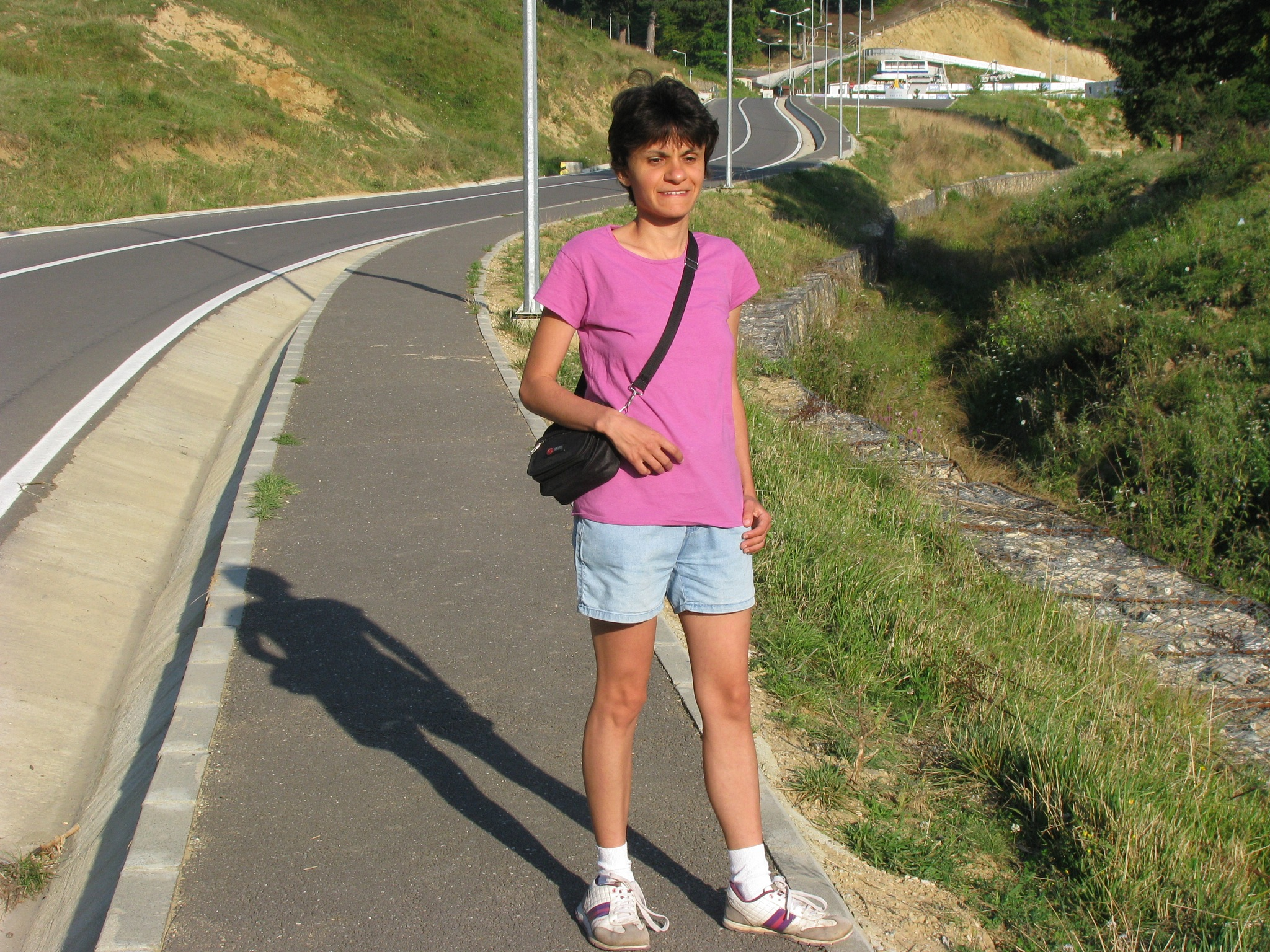 Me, at Rasnov resort, august 2014 by Elena Maria