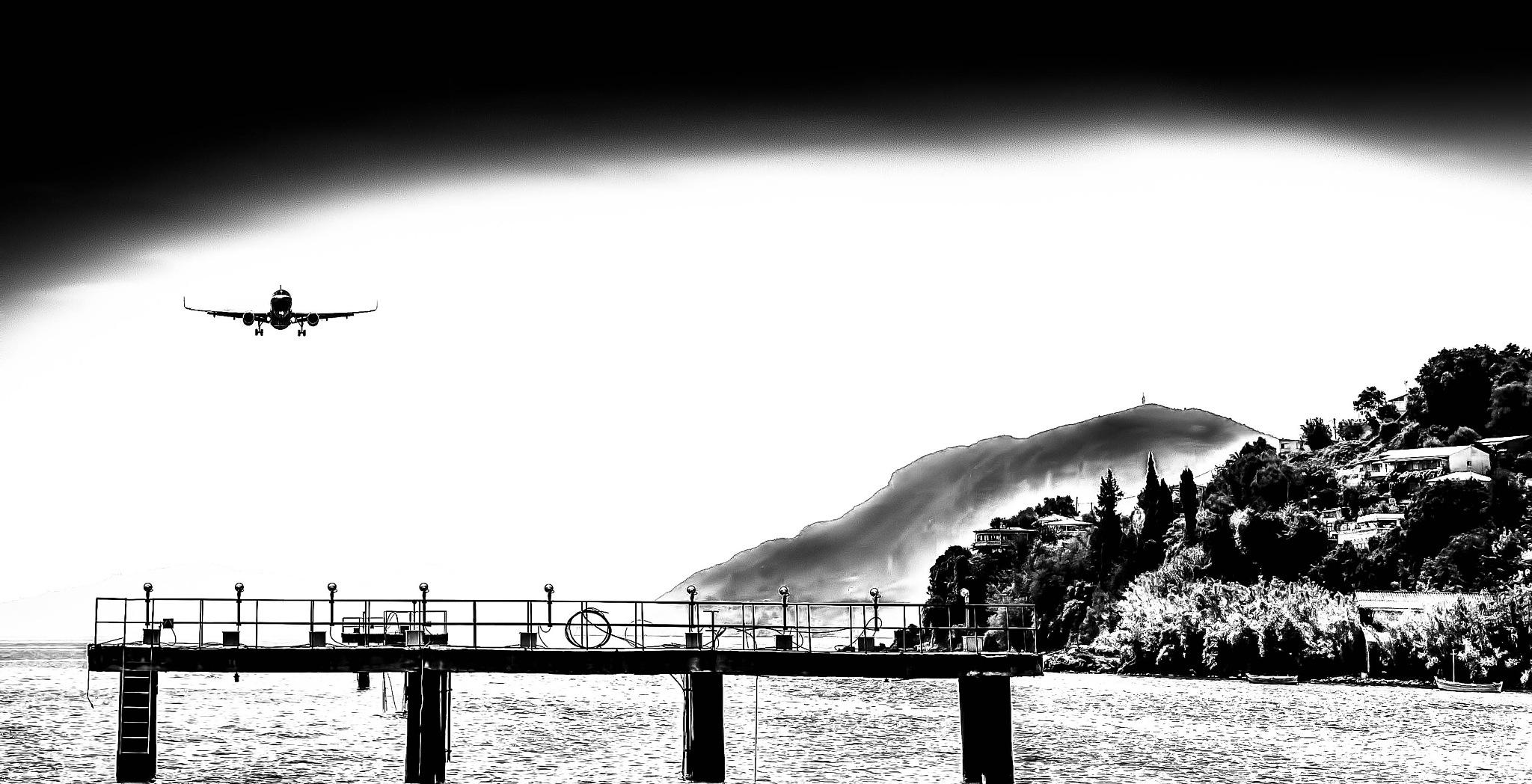 landing Corfu by Kurt Land