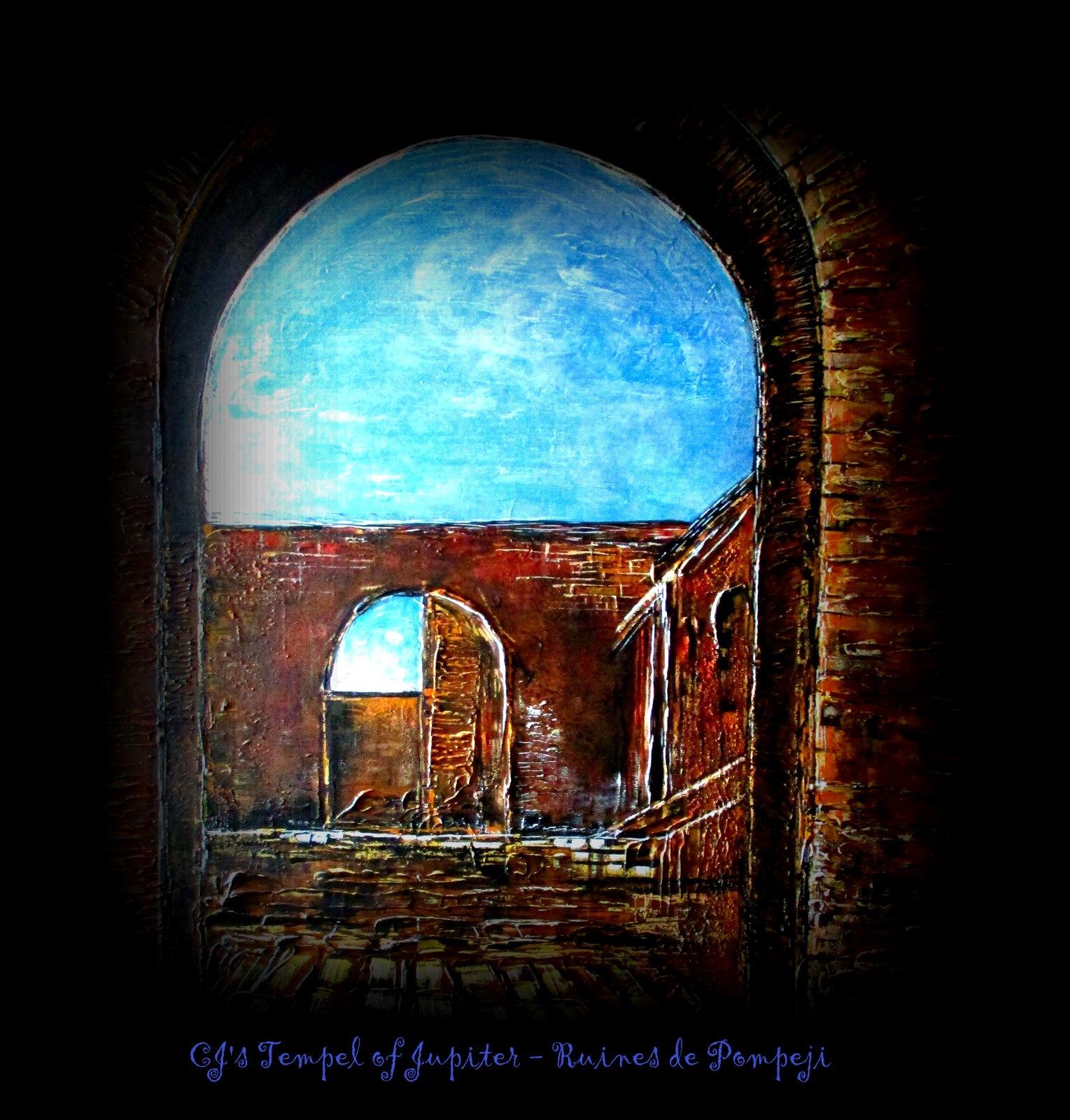 CJ's Tempel of Jupiter - Ruines de Pompeji  by cathyjansen