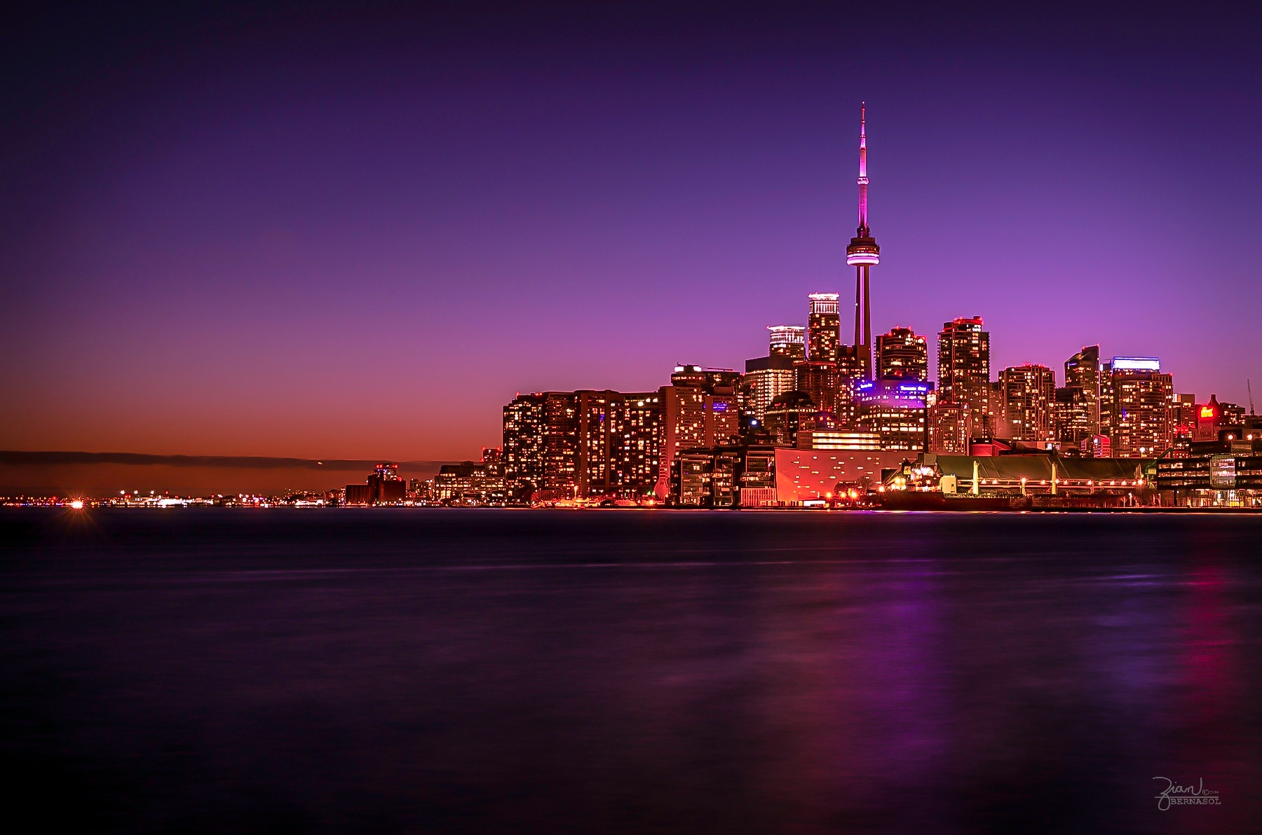 Toronto Skyline by Zian Bernasol