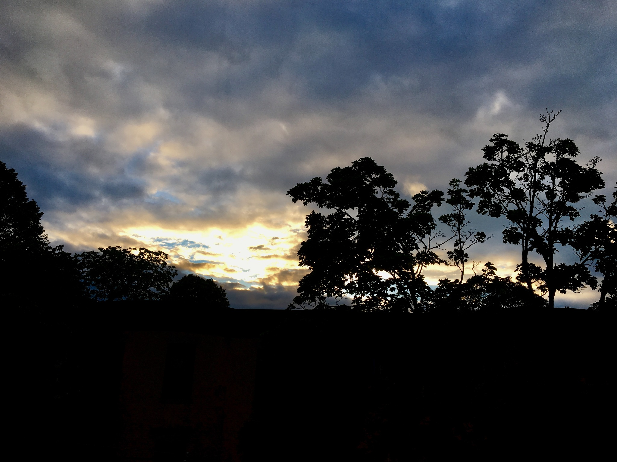 Evening sky  by DonnaFuller