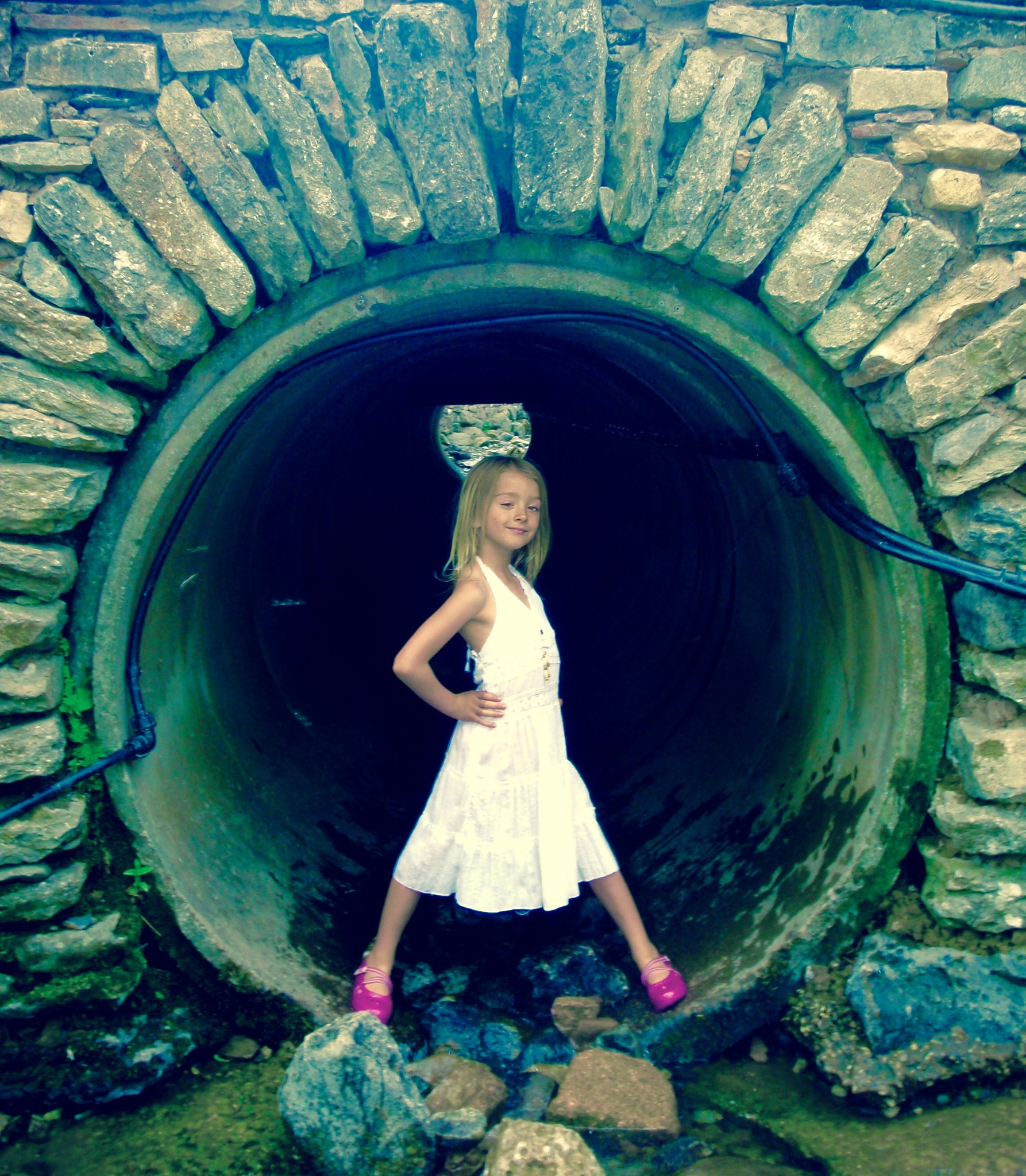 Tunnel Girl by Lucinda Jeane