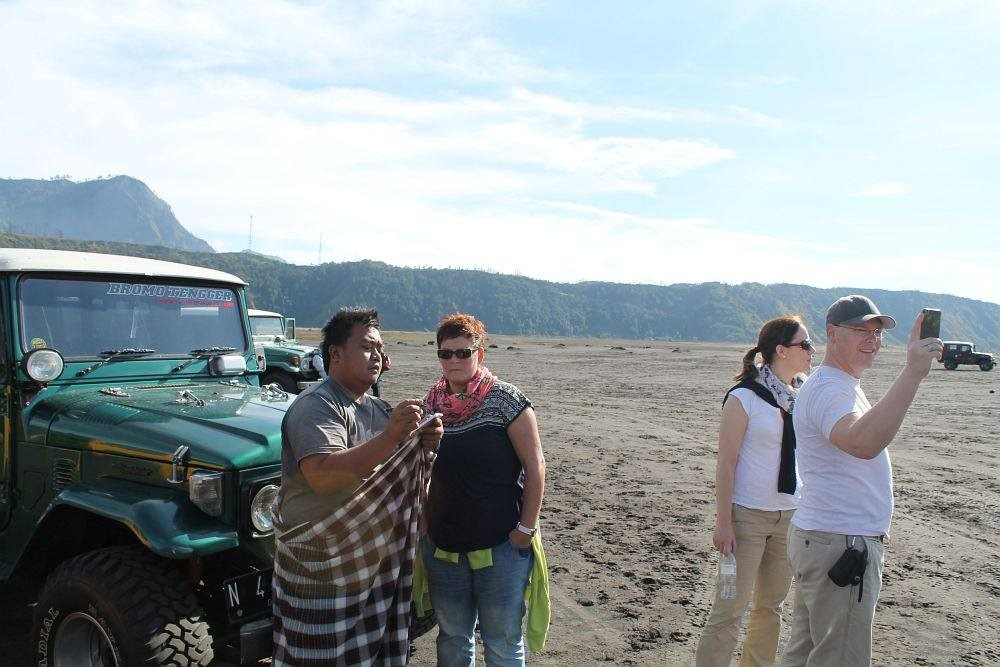 At 2300meter..near Mt.Bromo by kulojava tour organizer