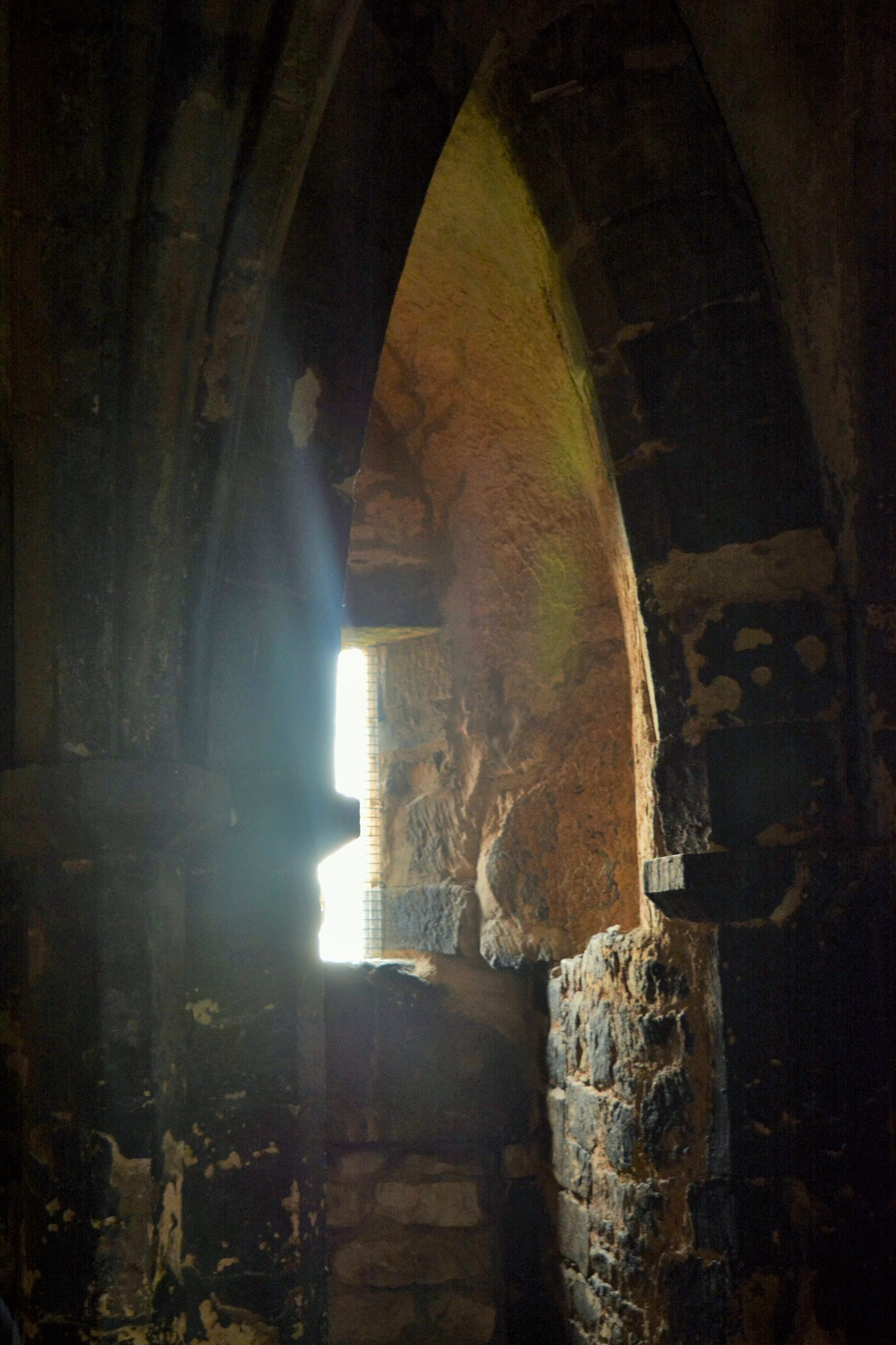 Window in the prison tower by alison16