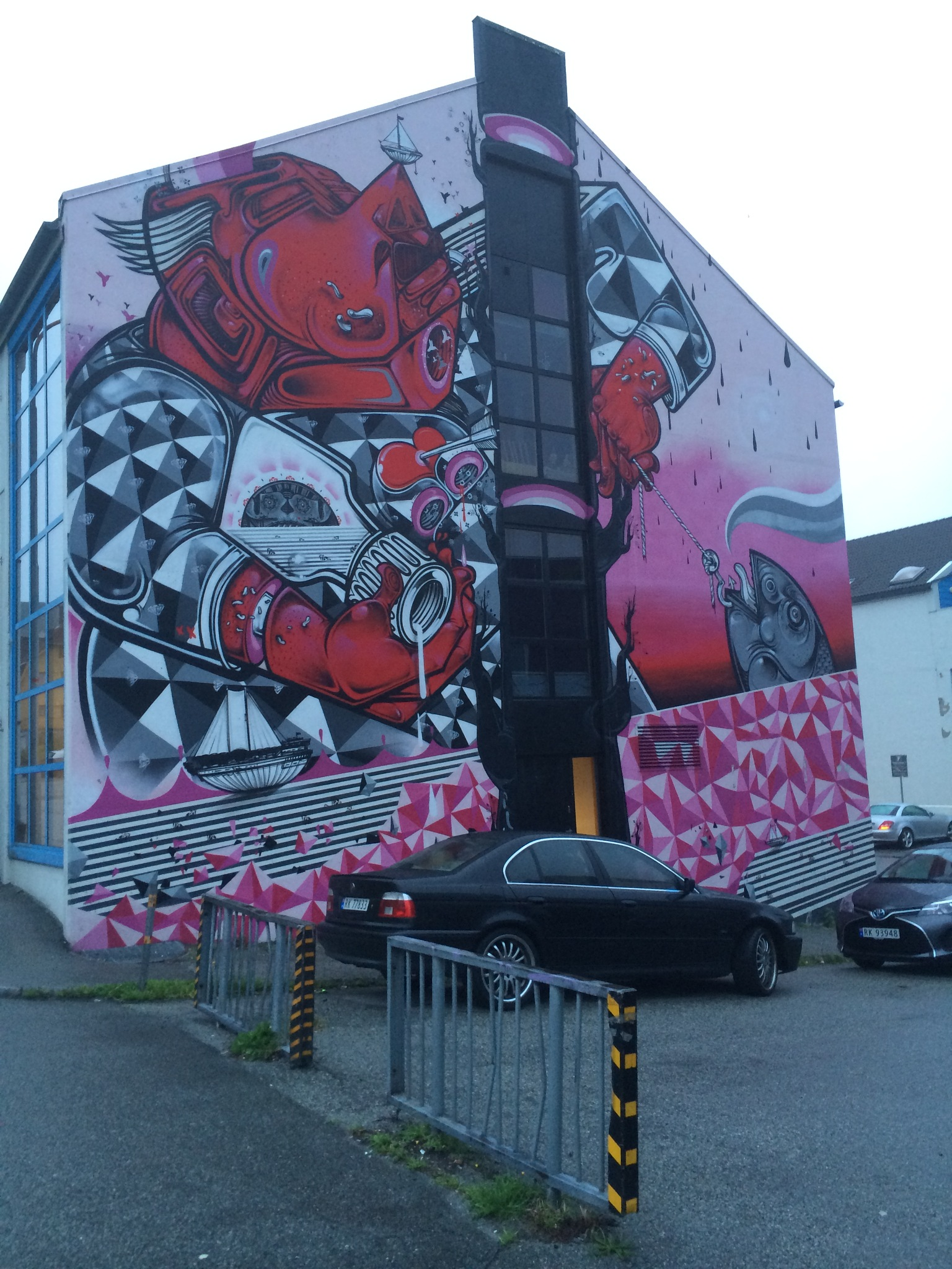 Streetart in Stavanger by christinanature