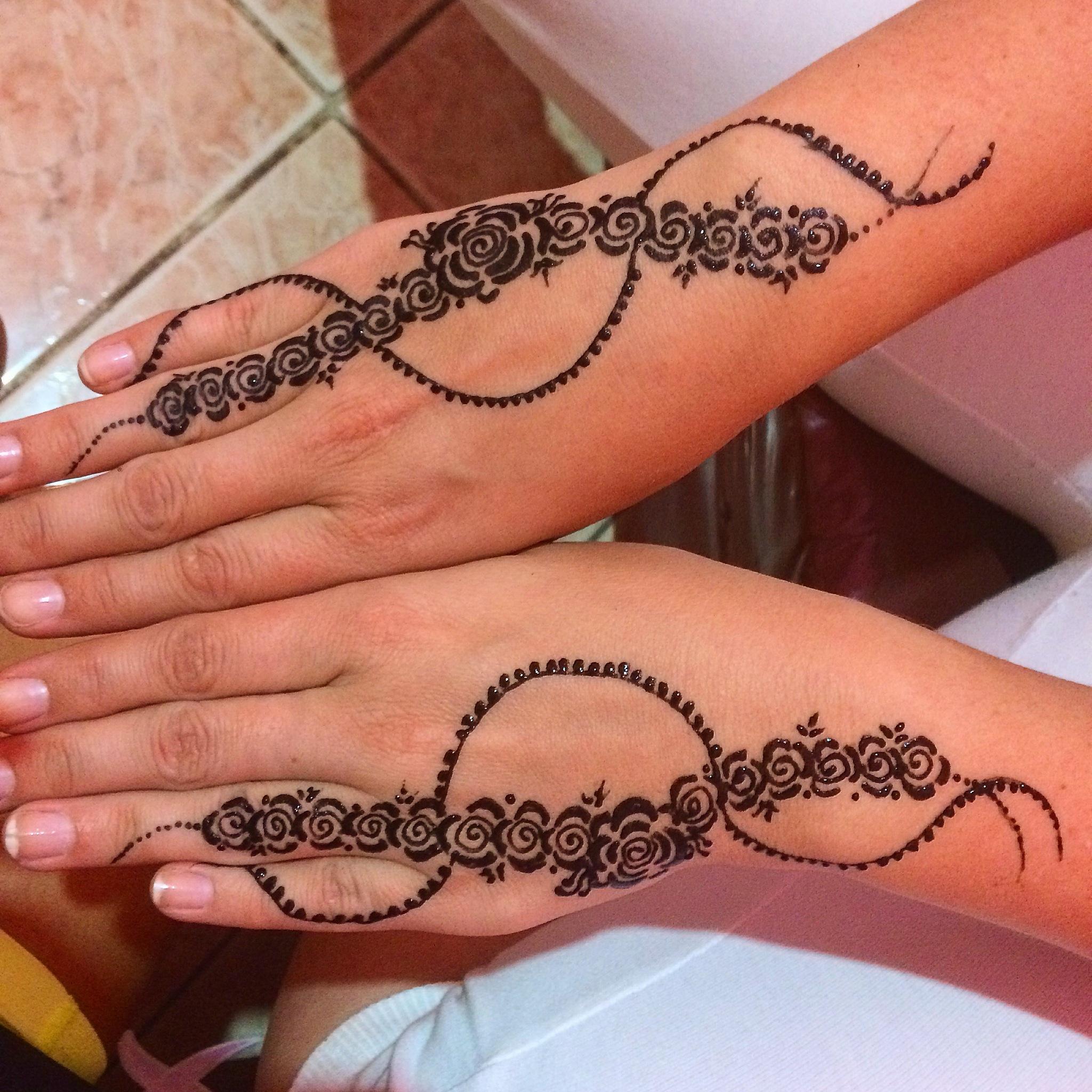 Henna tatto ~ Marocco  by christinanature