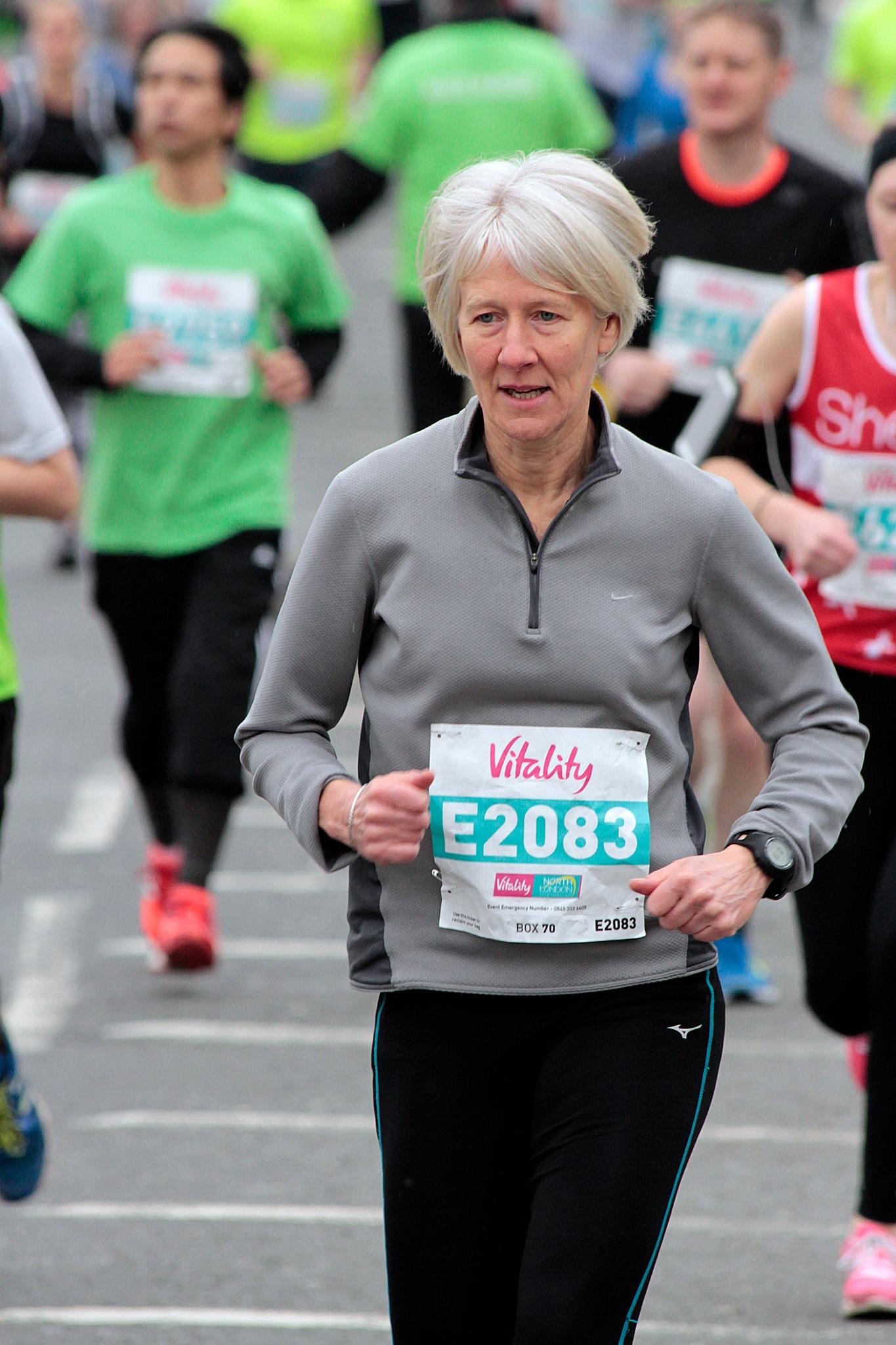 North London half maraton by Jaroslaw Wrona